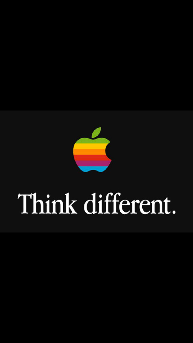 Apple Think Different 3Wallpapers iPhone 5 Apple Think Different