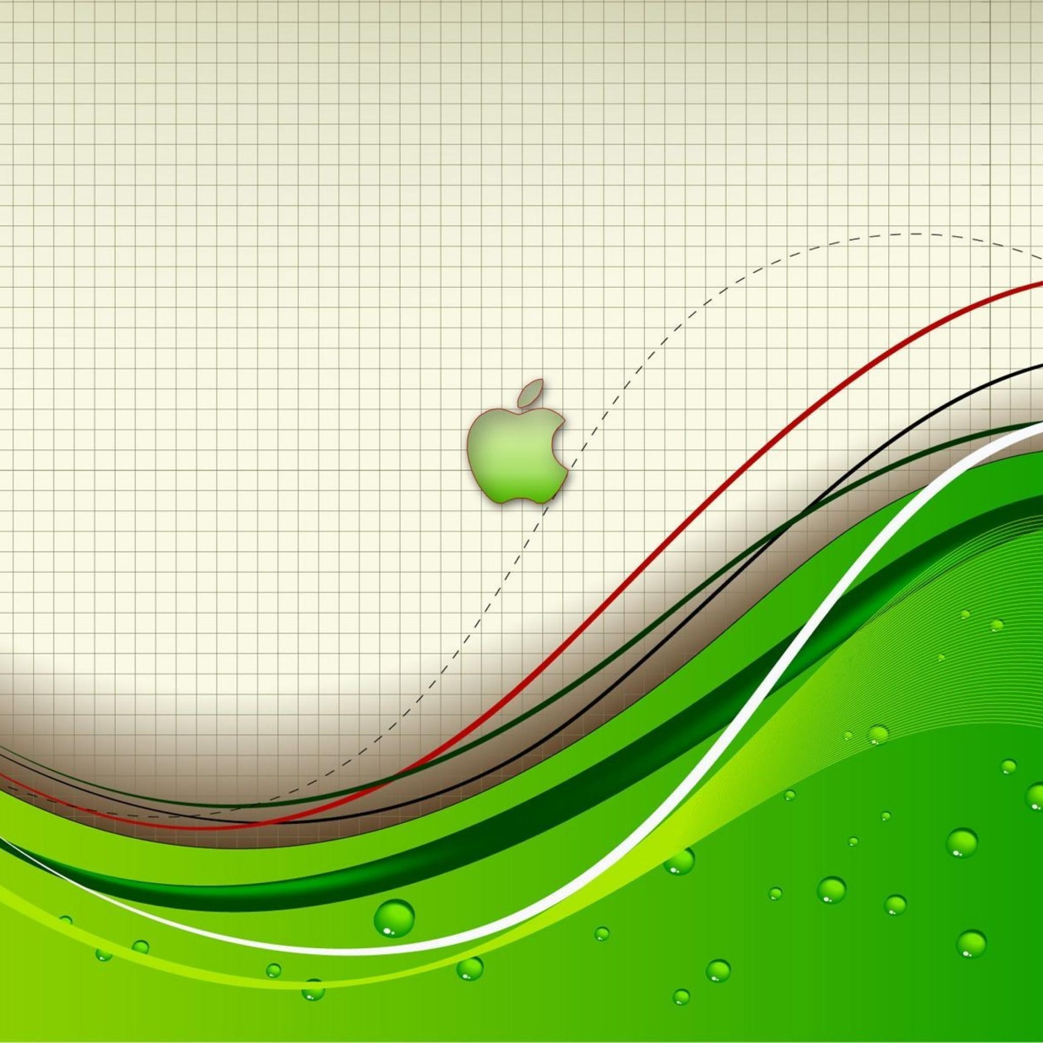 Apple lignes 3Wallpapers iPad Retina Apple Lignes   iPad Retina