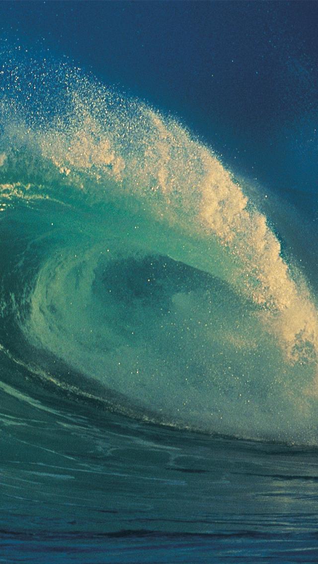 Ocean Wave 3Wallpapers iPhone 5 Ocean Wave