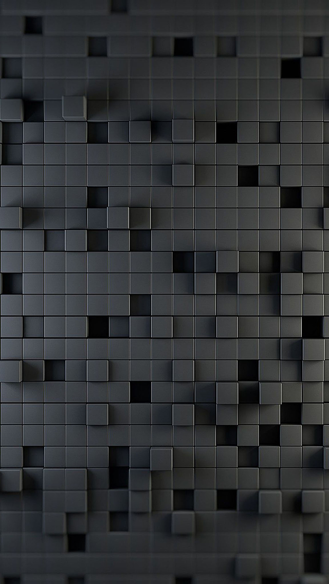 3d Cube Wall Design 3Wallpapers iPhone 5 3d Cube Wall Design
