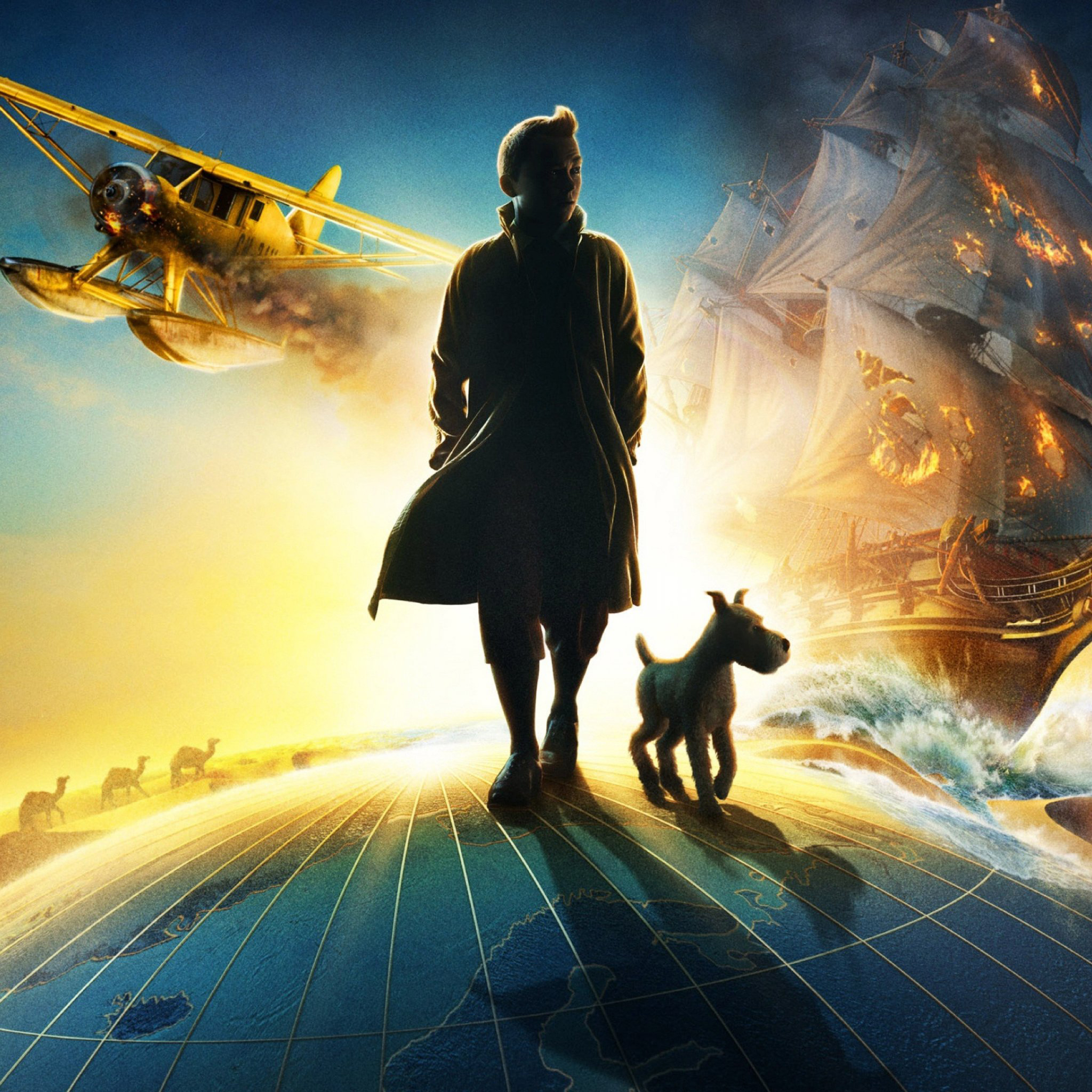 The Adventures of Tintin 3Wallpapers iPad Retina The Adventures of Tintin   iPad Retina