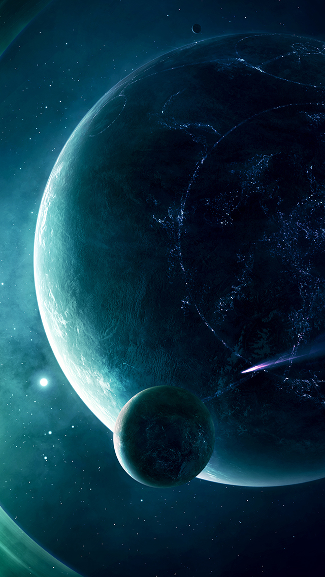 Halo Planet 3Wallpapers iPhone 5 Halo Planet