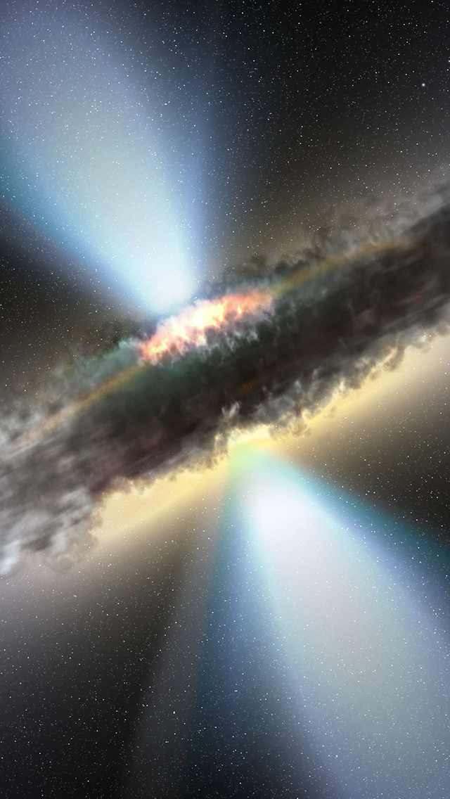 Massive Blackhole 3Wallpapers iPhone 5 Massive Blackhole