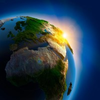 Planet Earth Light - iPad Retina
