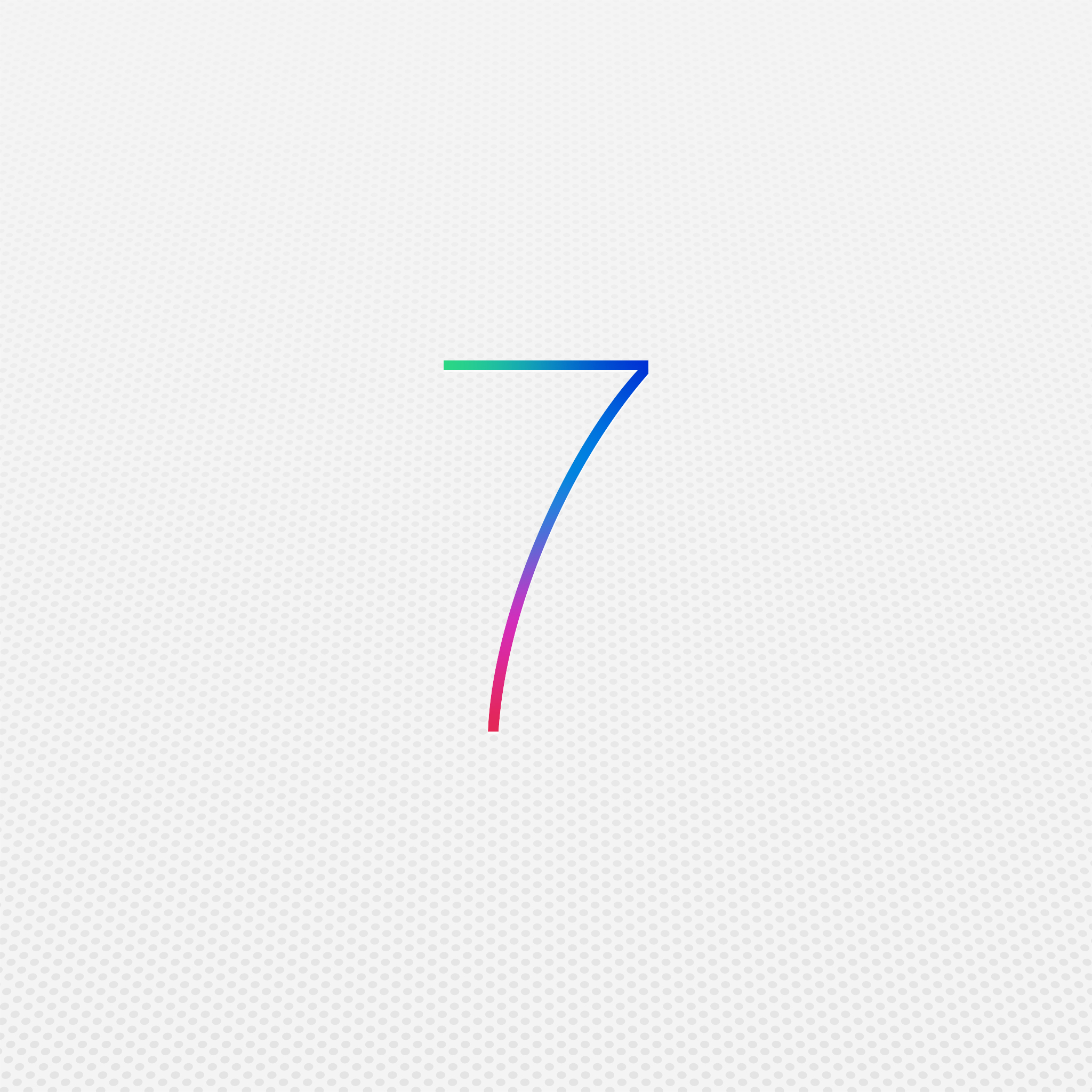 iOS7 3Wallpapers iPad Retina iOS 7   iPad Retina