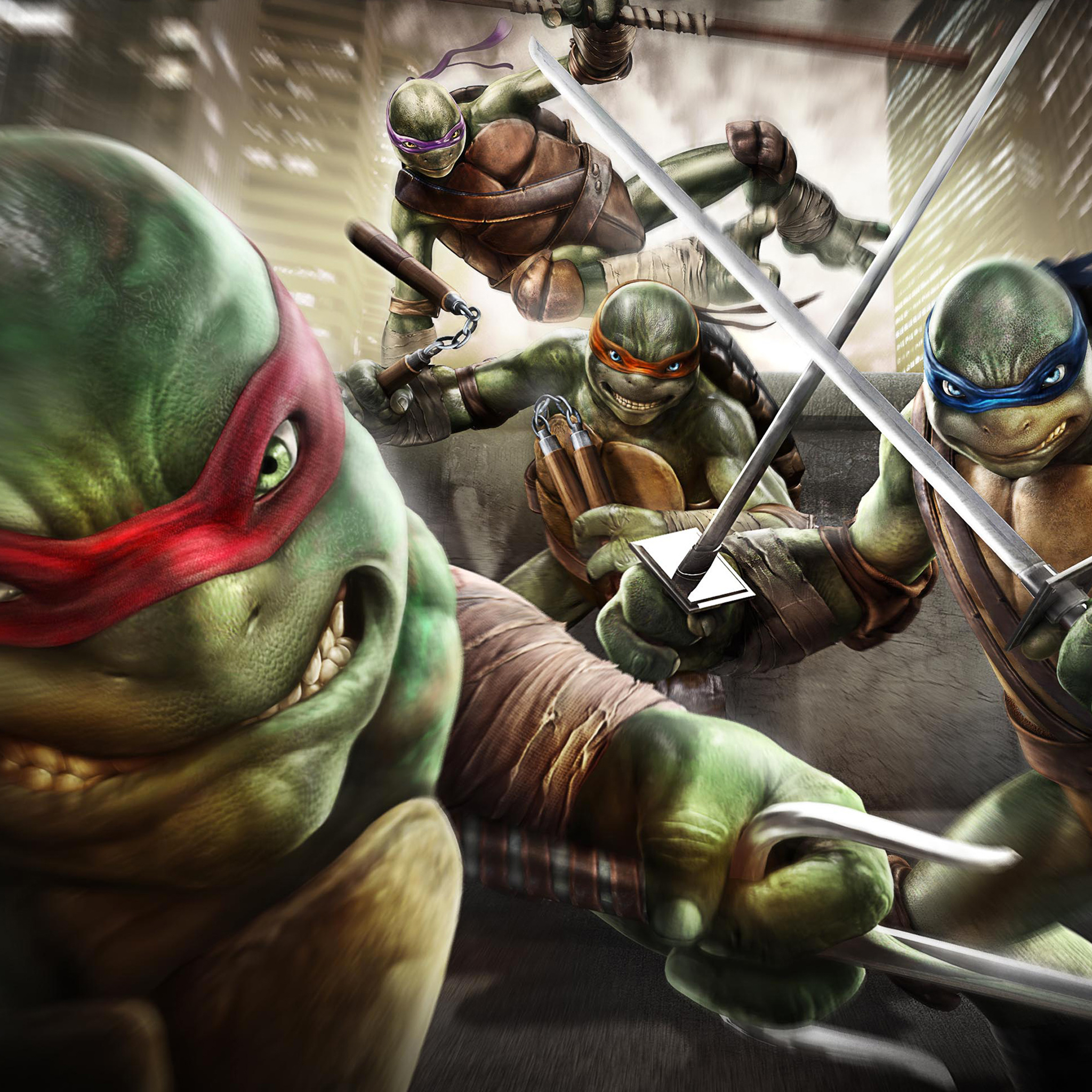 Ninja Turtles Out of the Shadows Game 3Wallpapers iPad Ninja Turtles Out of the Shadows Game   iPad
