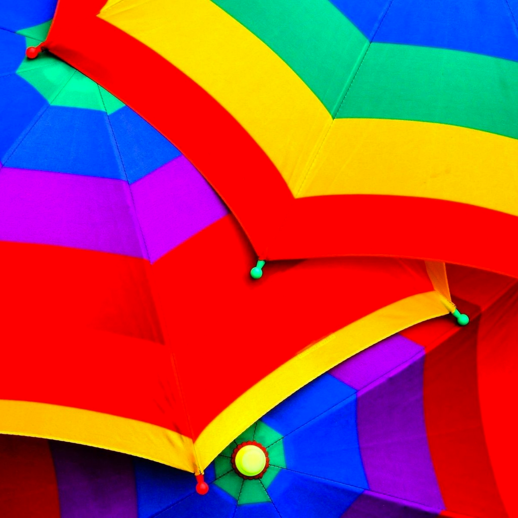 Colorful Umbrellas 3Wallpapers iPad Colorful Umbrellas   iPad