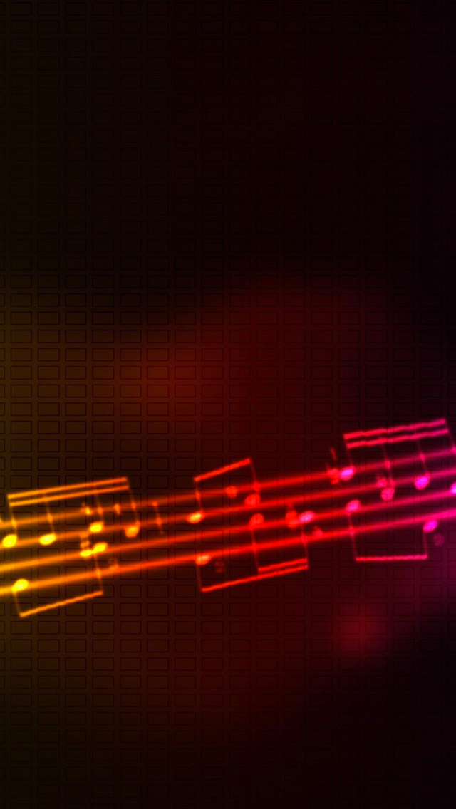 Music Multicolor 3Wallpapers iPhone Music Multicolor