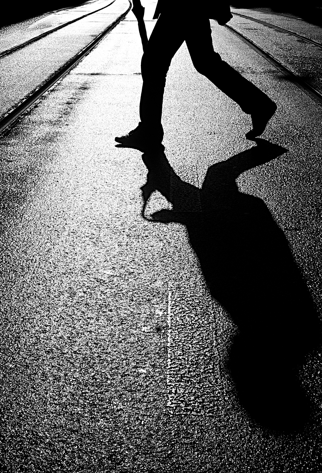 Street Shadow 3Wallpapers iphone Parallax Street Shadow