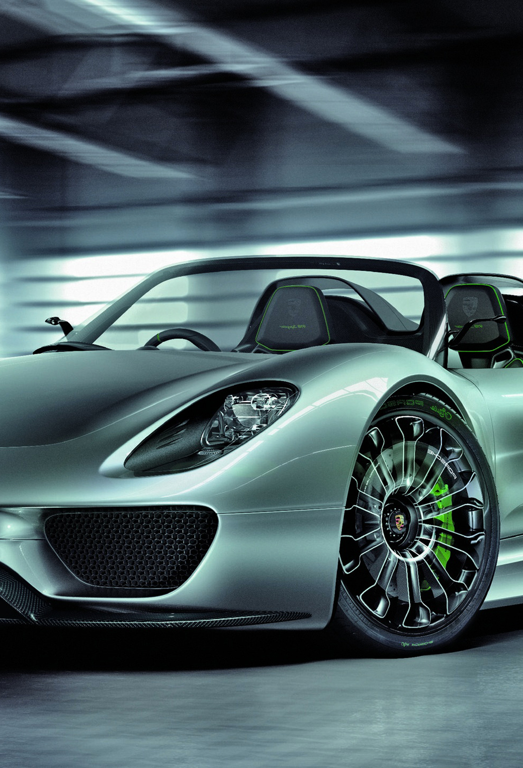 Porsche 918 Spyder 3Wallpapers iPhone parallax Porsche 918 Spyder