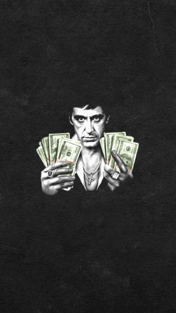 Scarface Money Wallpaper For Iphone 11 Pro Max X 8 7 6 Free Download On 3wallpapers