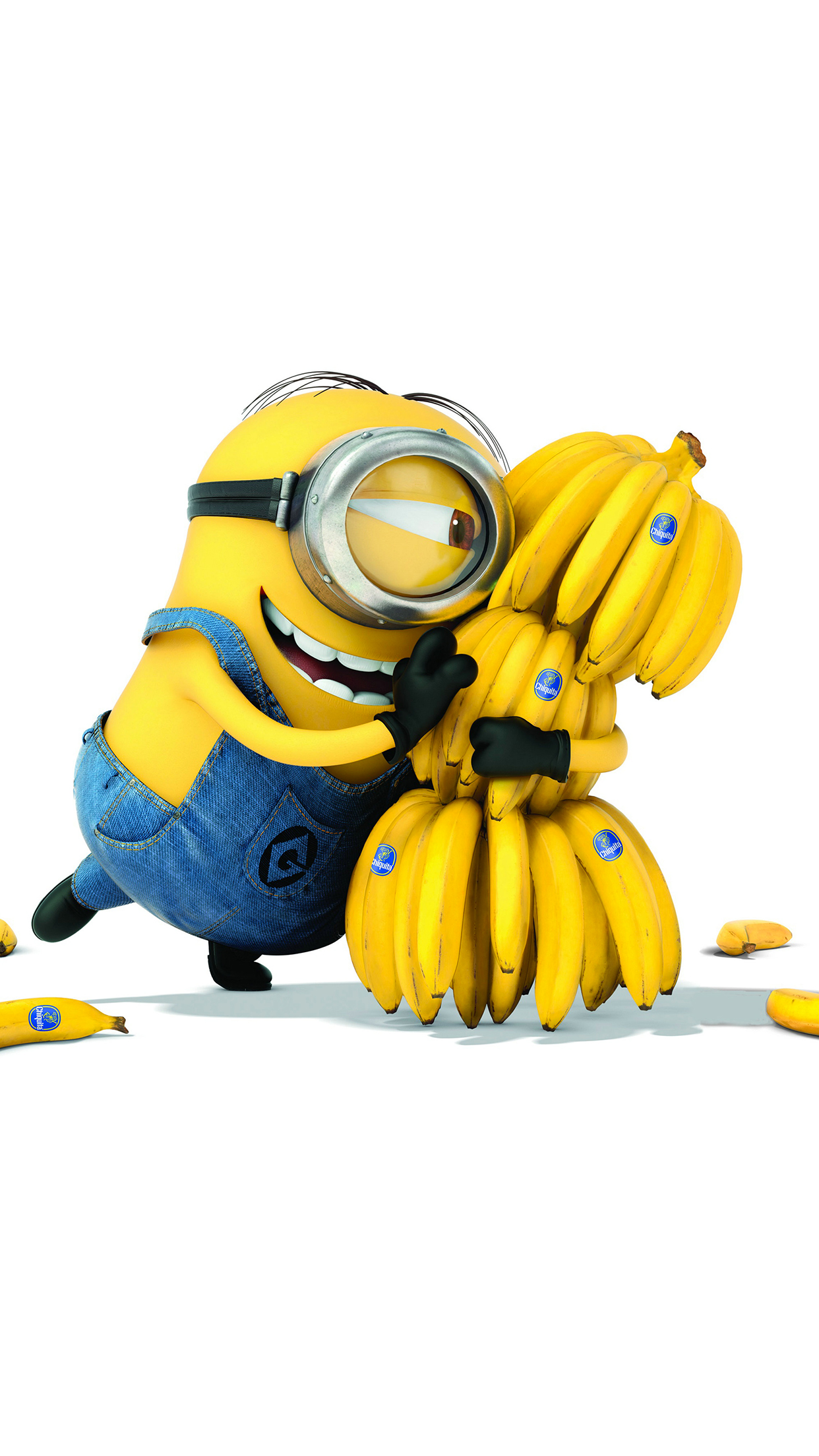 Minion Banana iPhone 3Wallpapers Parallax Minion Banana