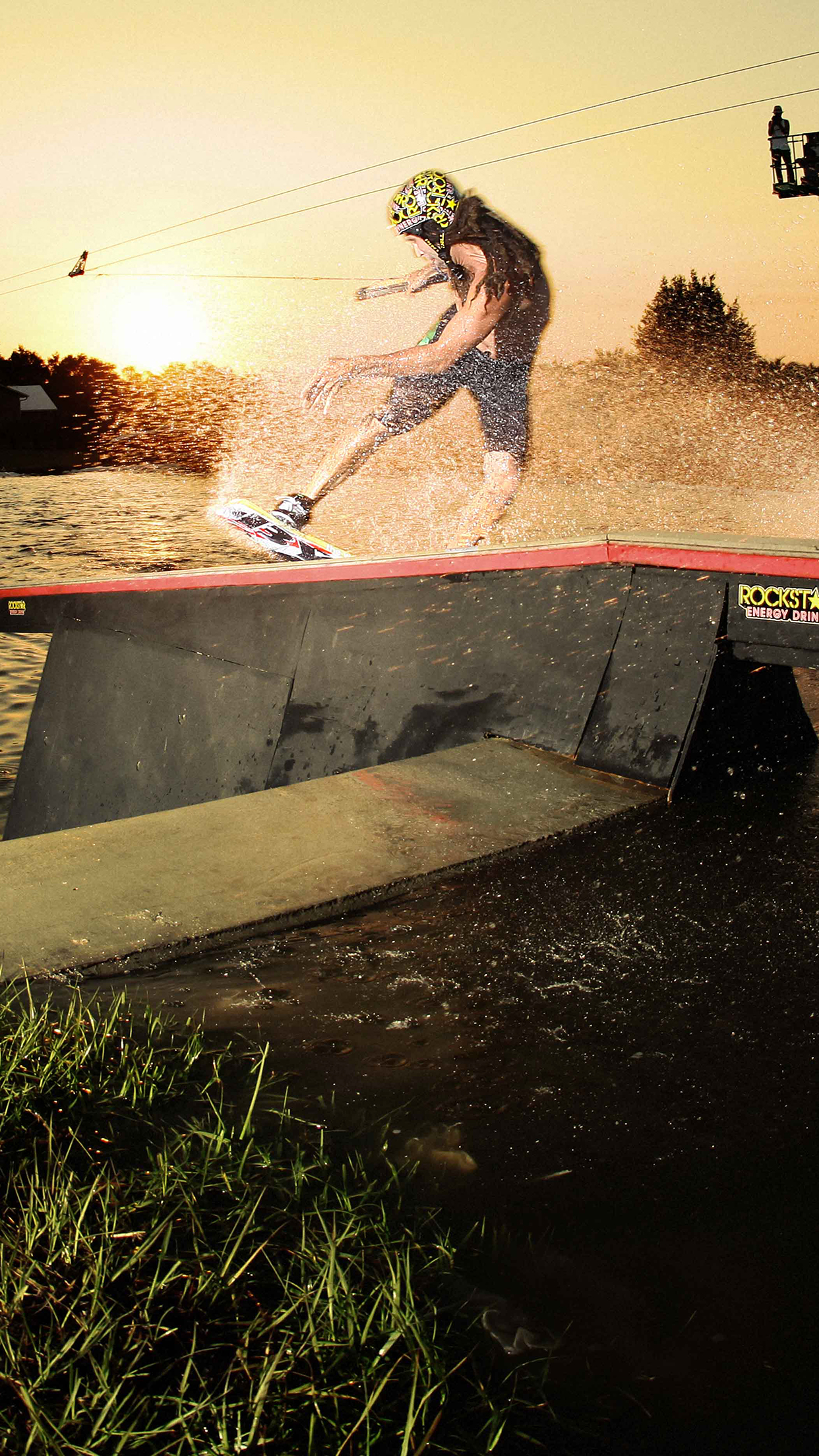 Wakeboard Dave Crawford 3Wallpapers iPhone Parallax Wakeboard Dave Crawford