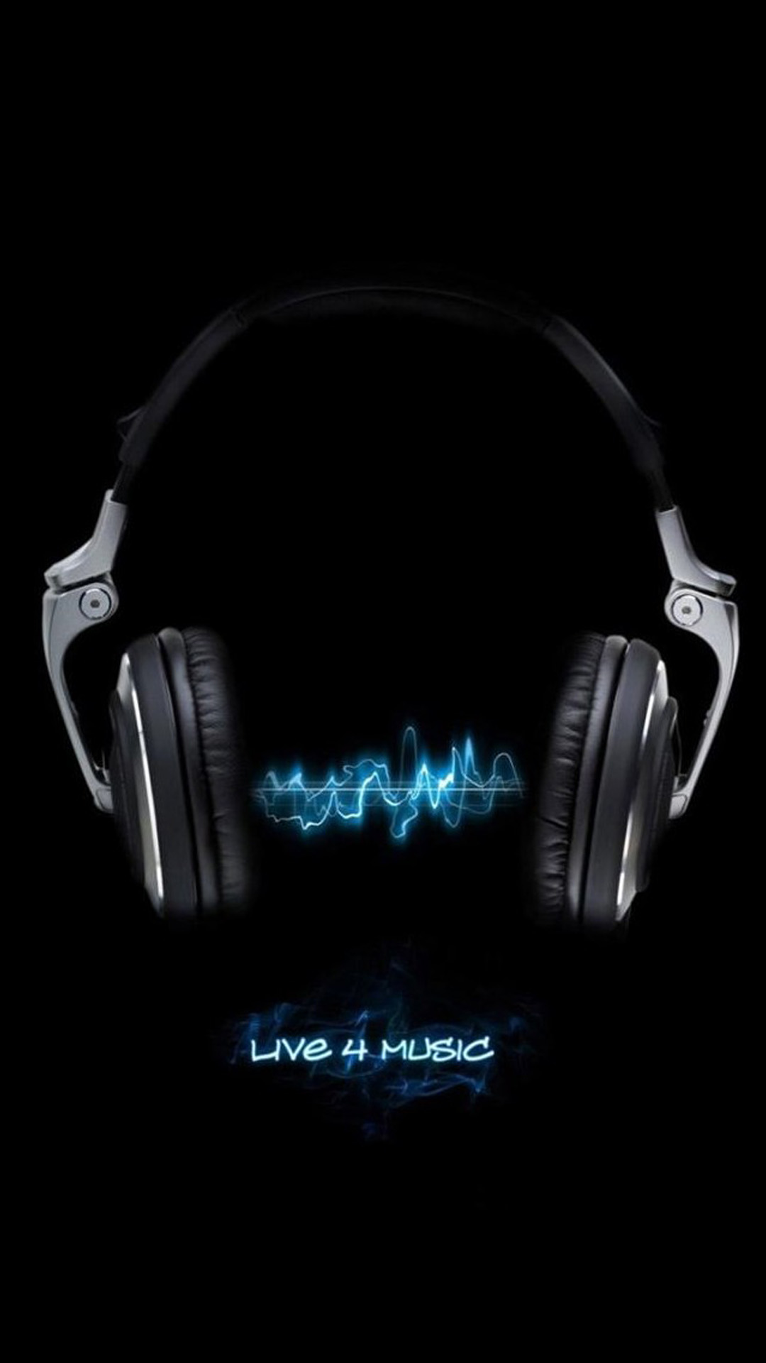 music live 4 music 3Wallpapers iPhone Parallax Music Live 4 Music