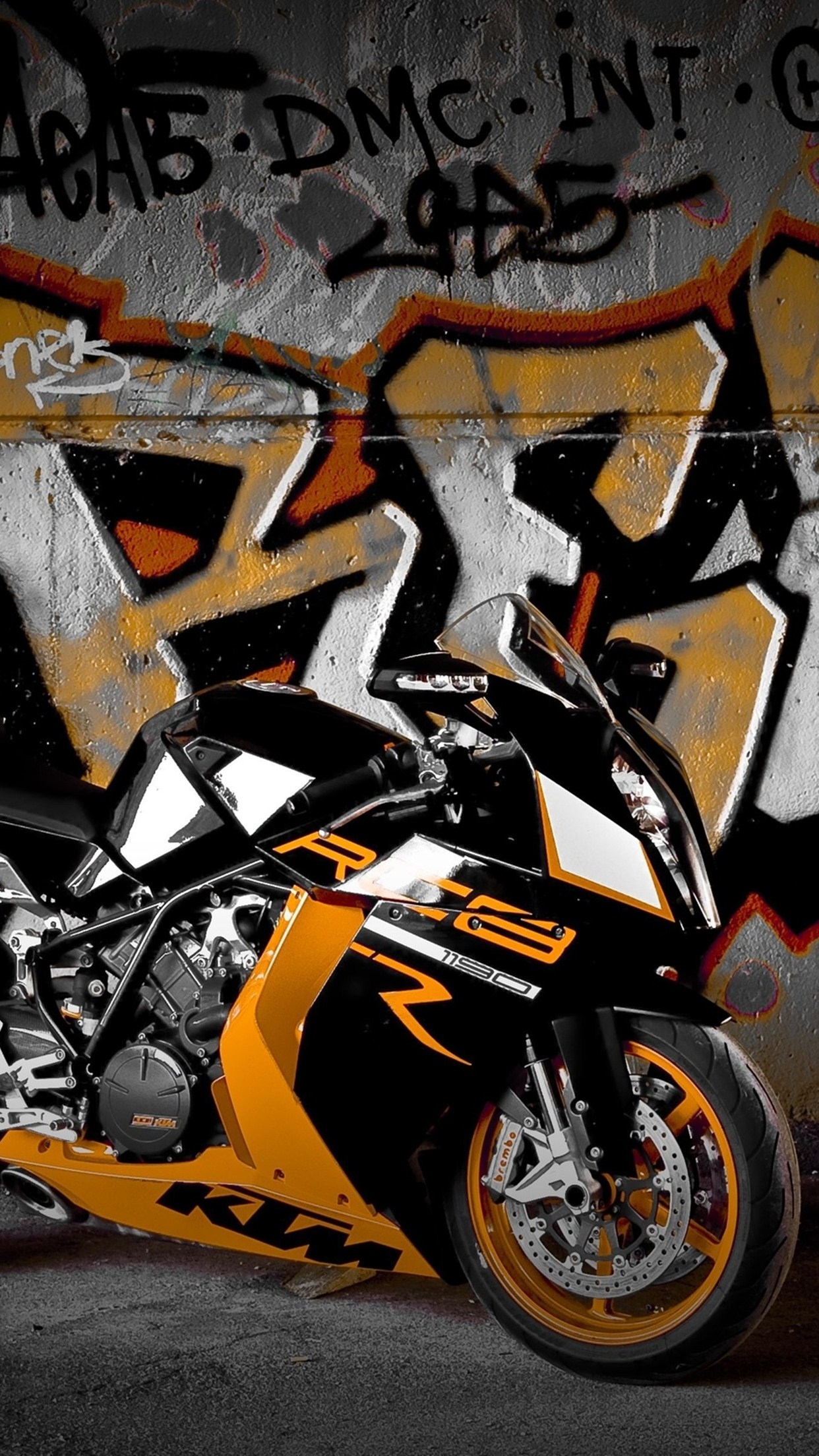 moto ktm rc8 3Wallpapers iPhone Parallax Moto KTM RC8