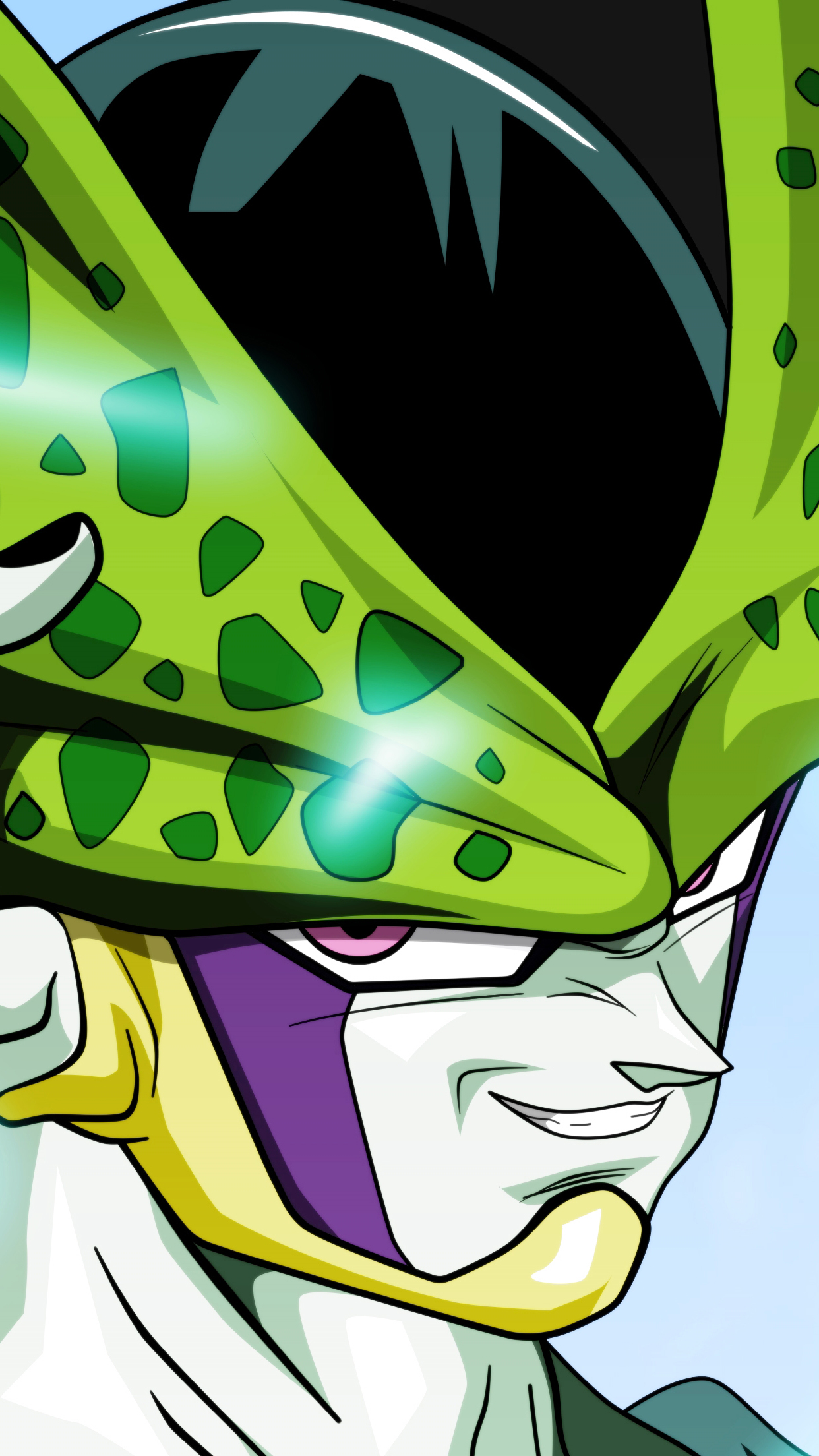 dbz cell 3Wallpapers iPhone Parallax Dragon Ball Cell