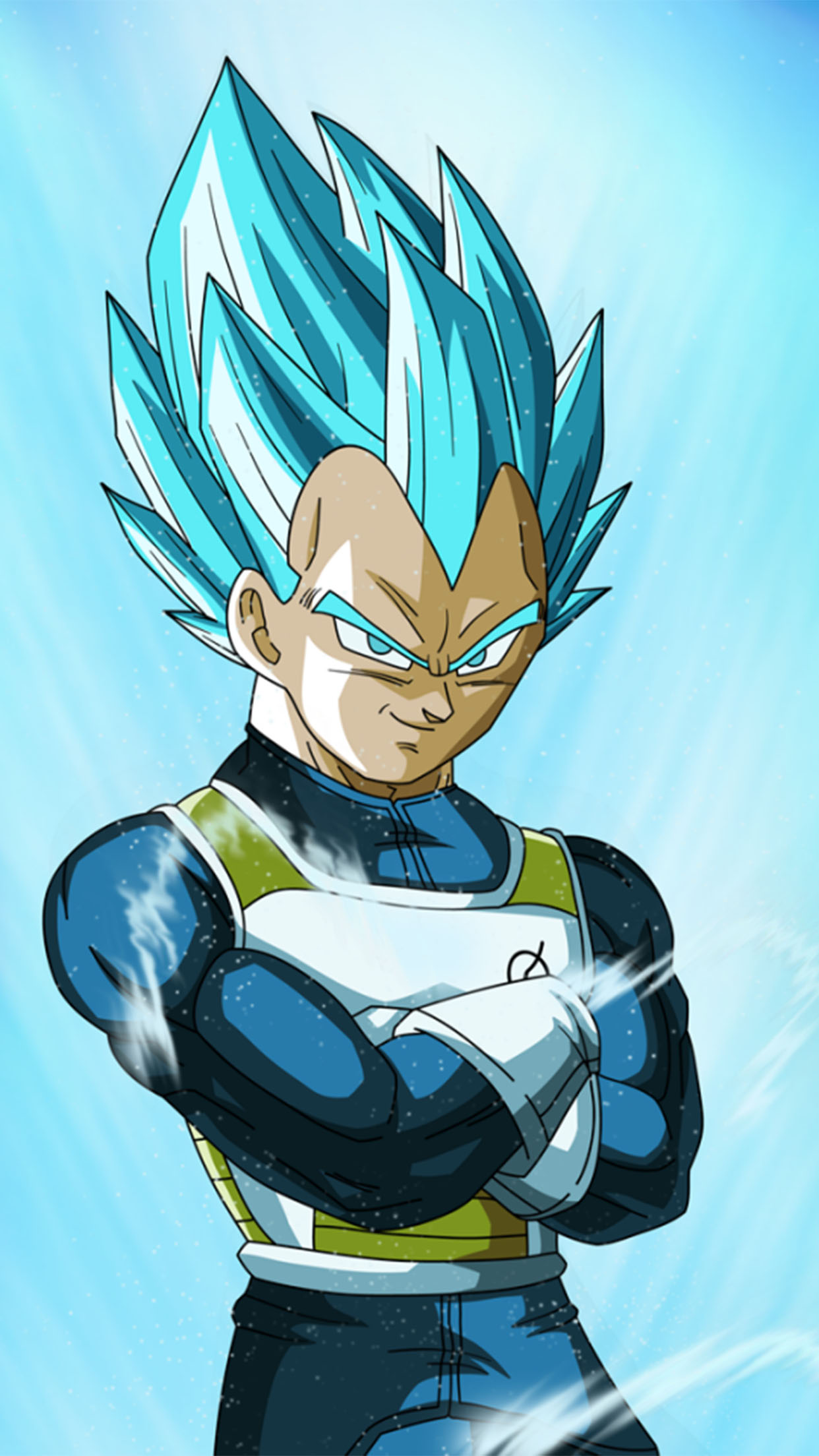 Dragon Ball Vegeta 3Wallpapers iPhone Parallax Vegeta