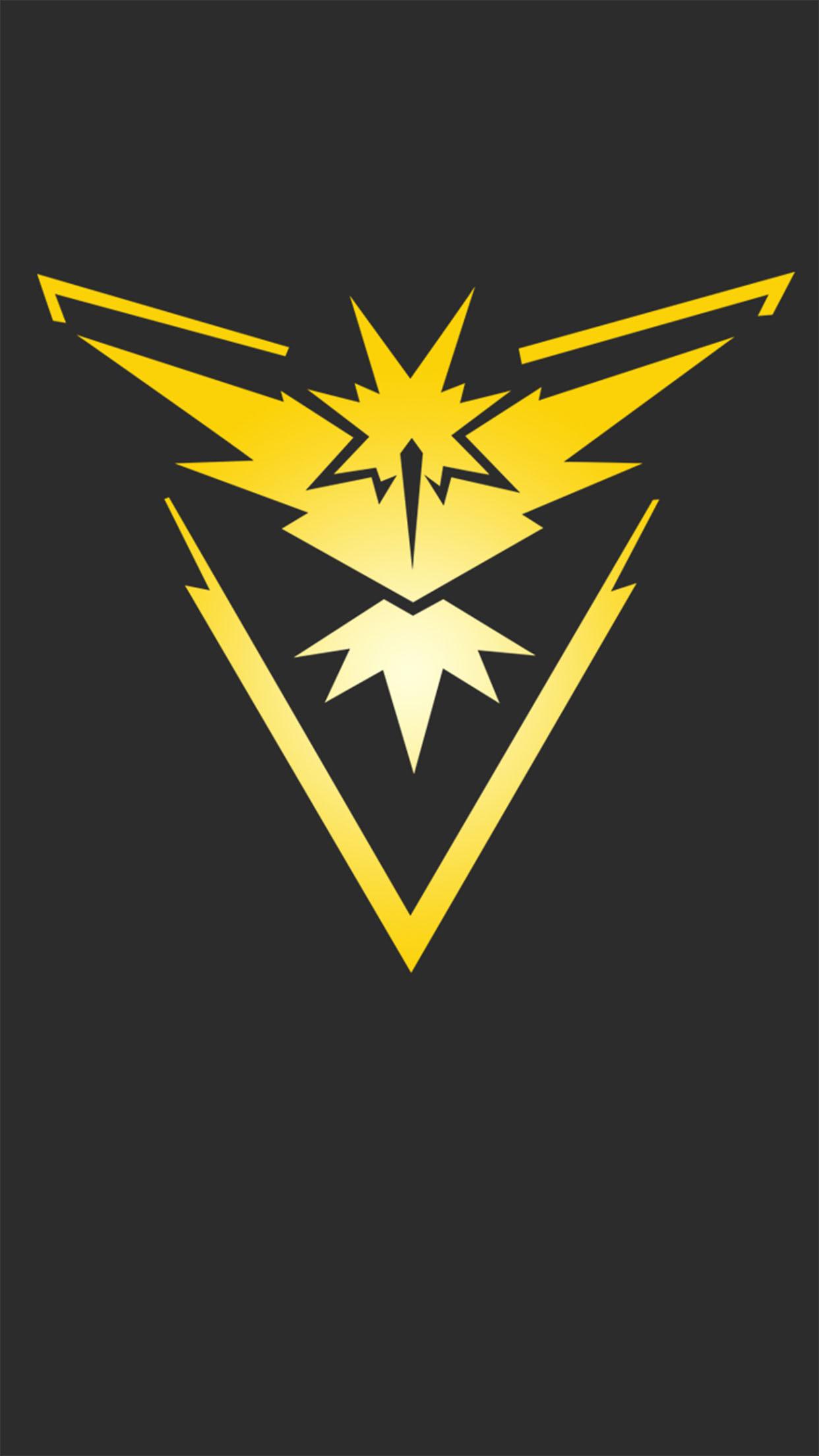 Pokémon GO Logo 1 3Wallpapers iPhone Parallax Pokémon GO logo 1