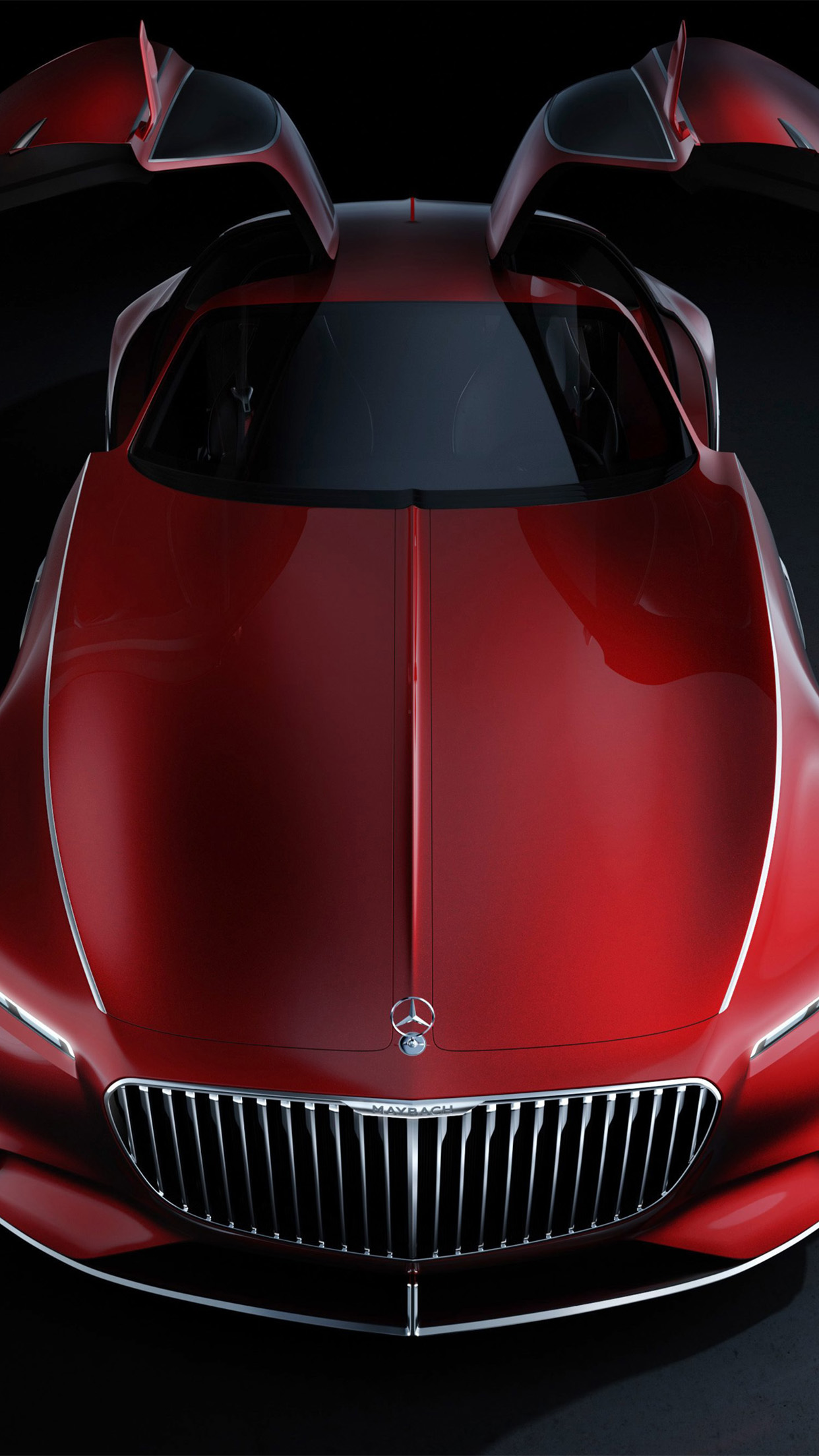 Mercedes Maybach Vision 6 Mercedes Maybach Vision 6 Front 3Wallpapers iPhone Parallax Mercedes Maybach Vision 6  Front