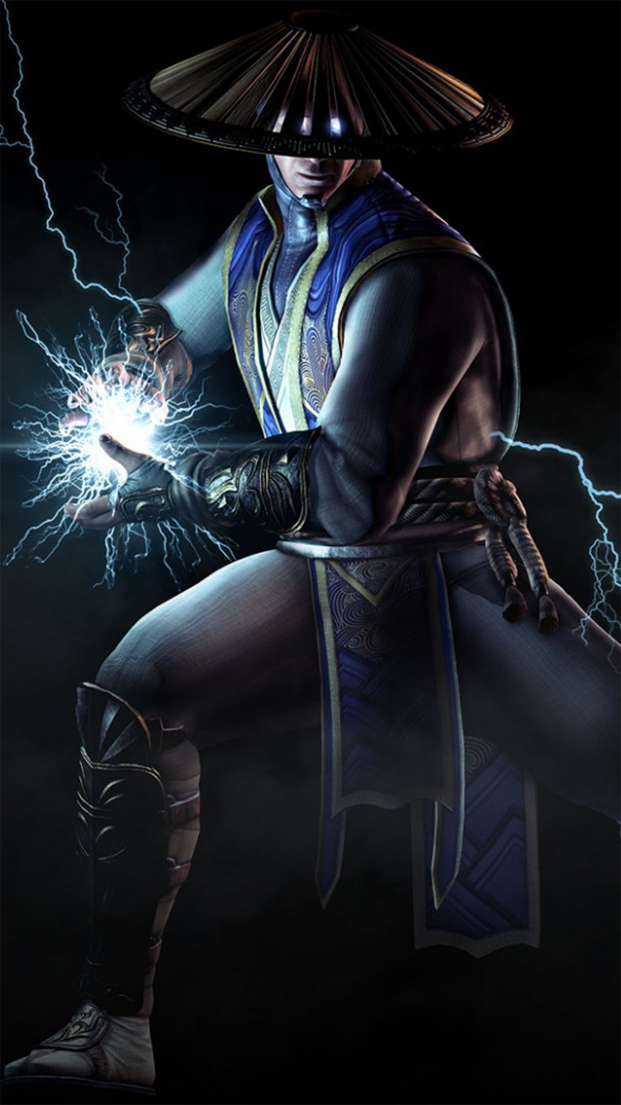 Mortal Kombat X Raiden 3Wallpapers iPhone Parallax Raiden
