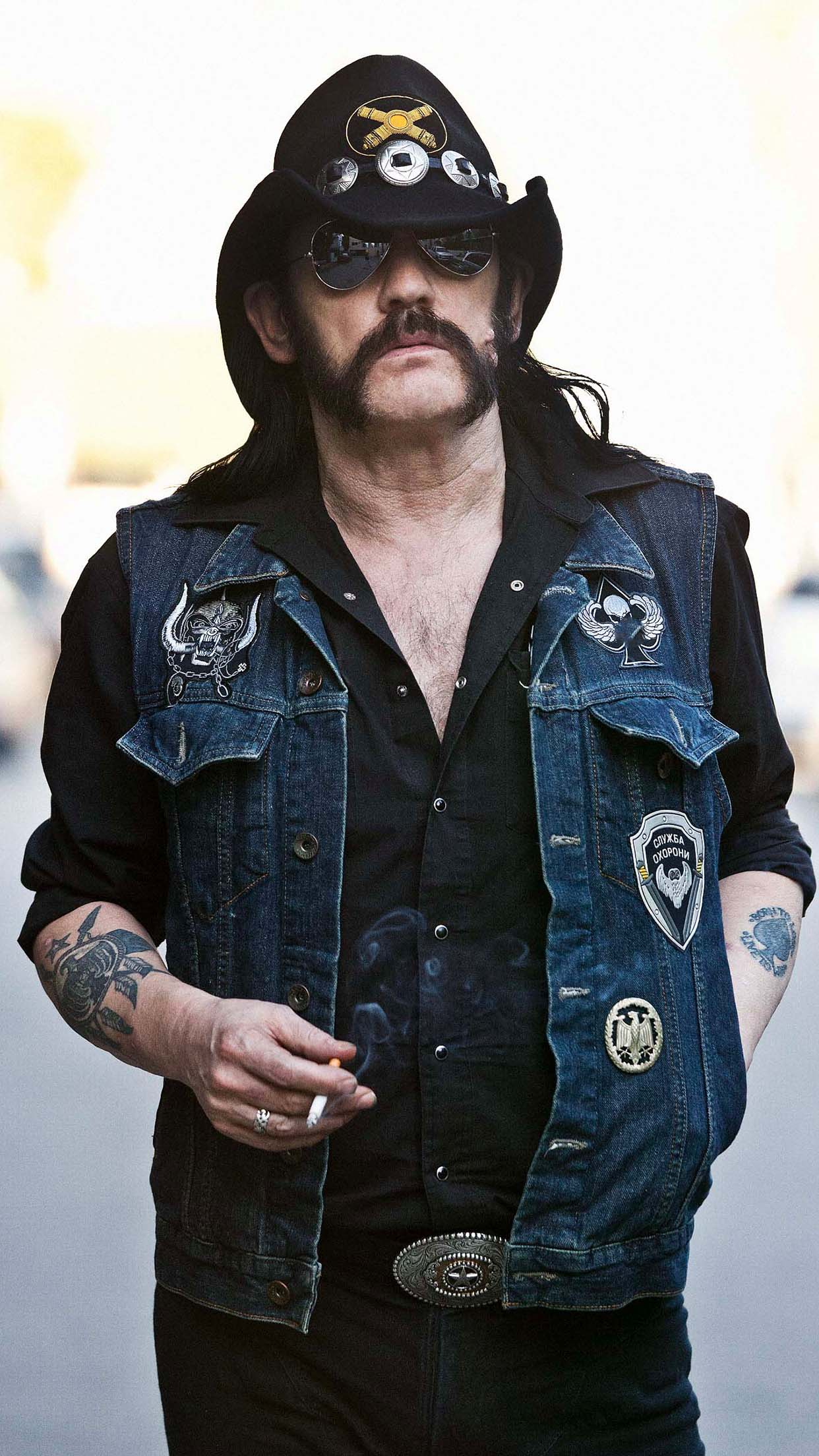 Motörhead Lemmy Kilmister 3Wallpapers iPhone Parallax Lemmy Kilmister