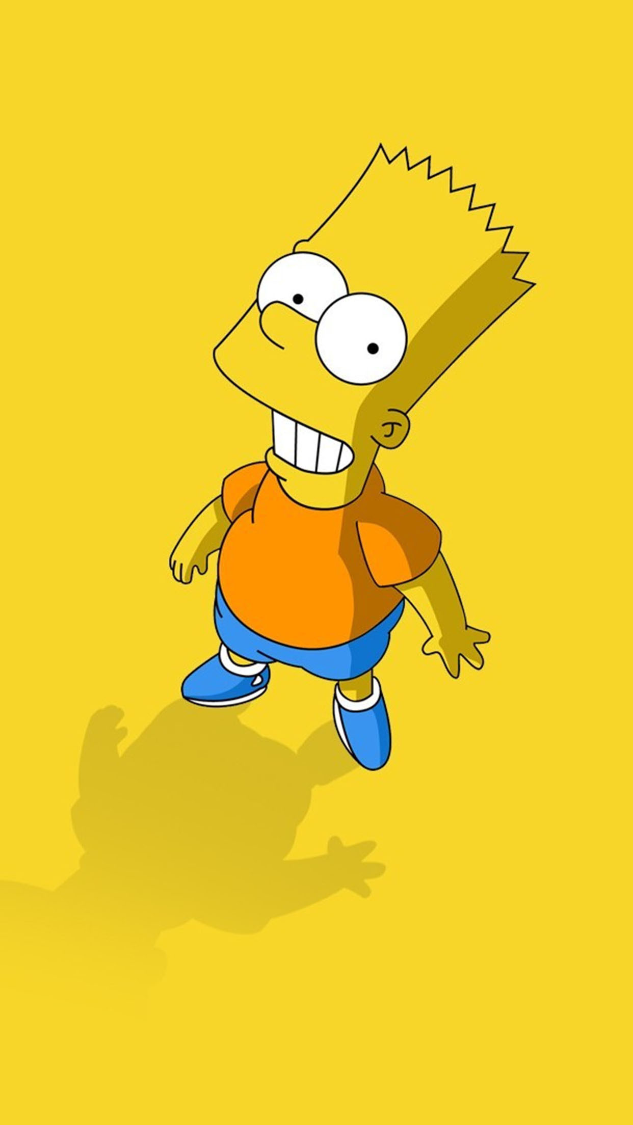 Simpsons Bart 3Wallpapers iPhone Parallax Bart