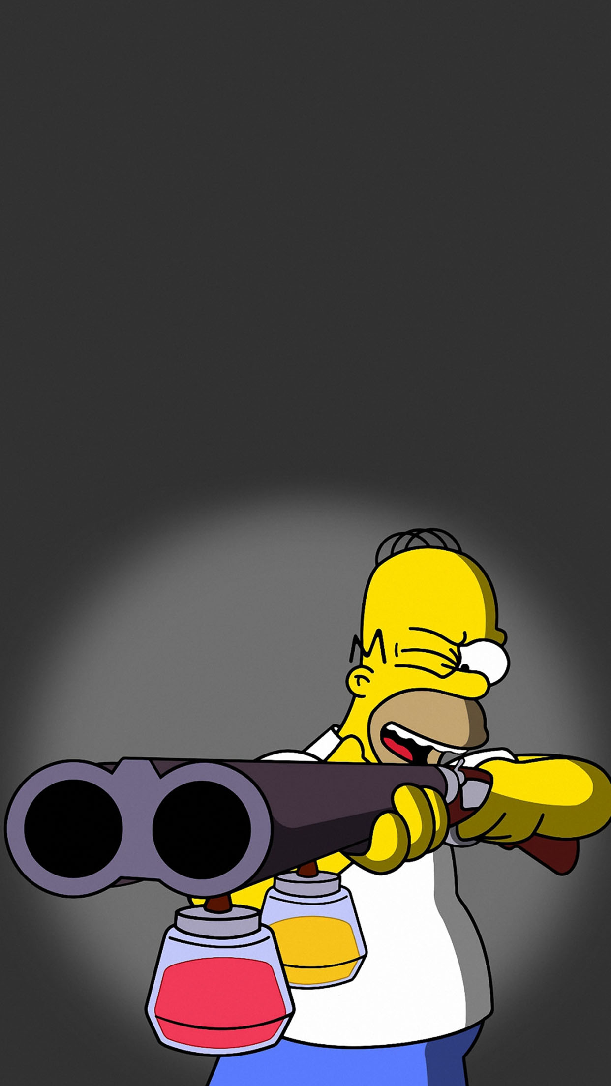 Simpsons Homer 3Wallpapers iPhone Parallax Homer