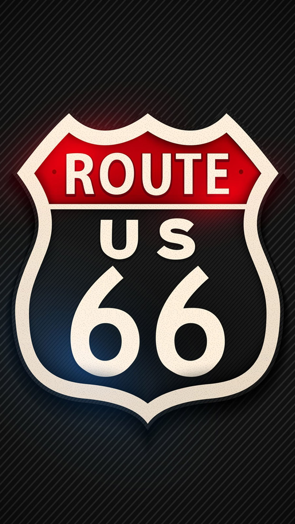 Route 66 Route 66 2 3Wallpapers iPhone Parallax Route 66 (2)