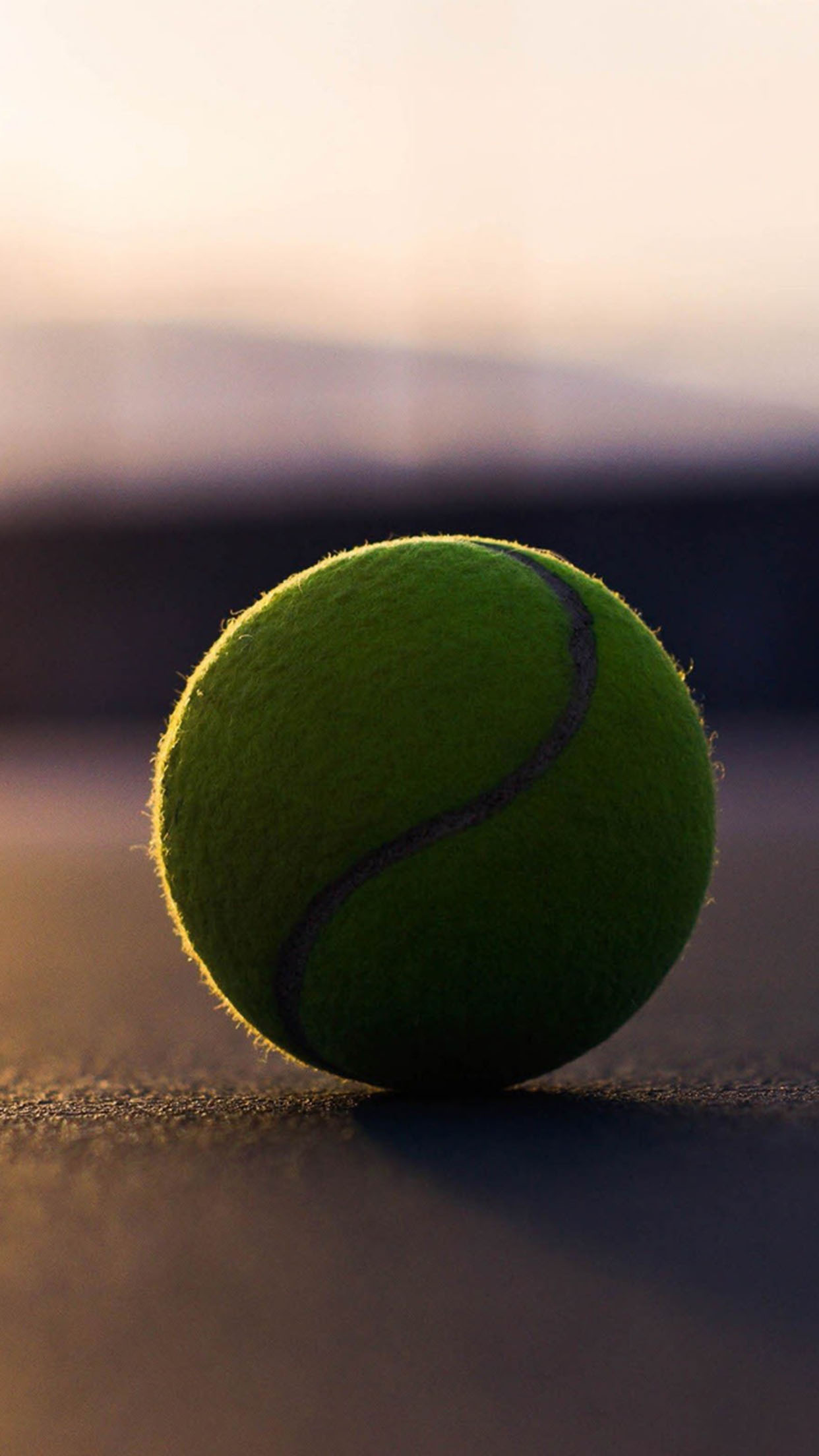 Tennis Tennis ball 3Wallpapers iPhone Parallax Tennis ball
