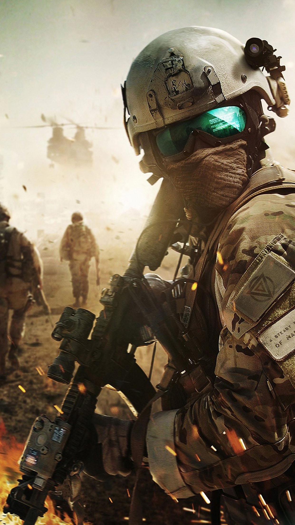 Battlefield Champ de bataille 3Wallpapers iPhone Parallax Battlefield: Battlefield