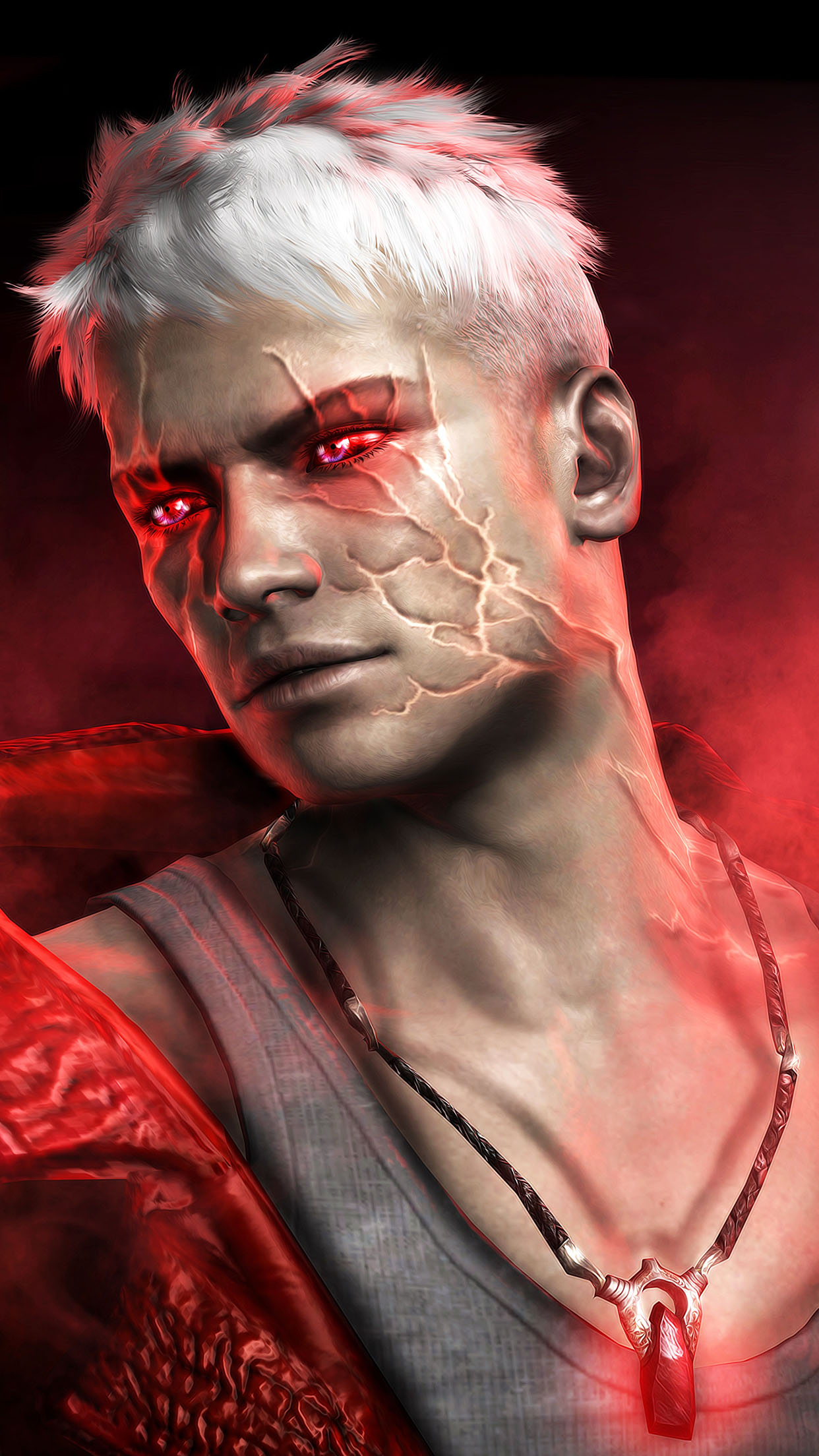 Devil May Cry Dante 3Wallpapers iPhone Parallax Devil May Cry: Dante