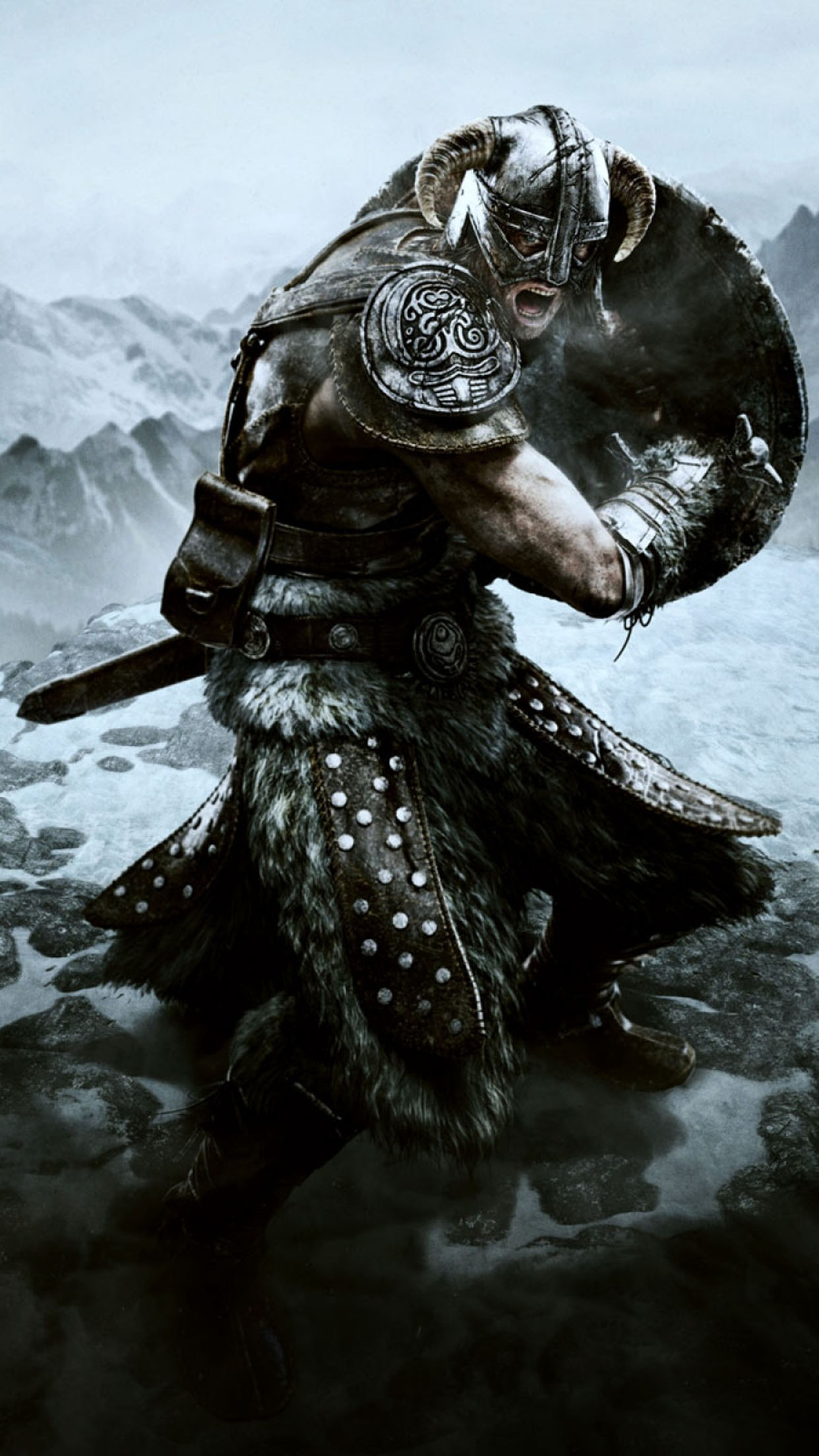 Skyrim Skyrim 1 3Wallpapers iPhone Parallax Skyrim 1