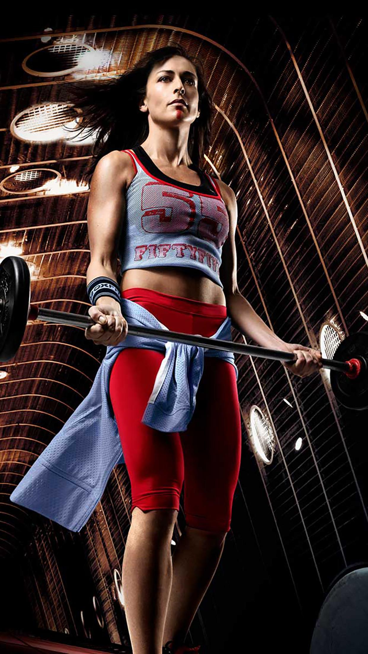 Fitness Girl 3Wallpapers iPhone Parallax Fitness : Girl