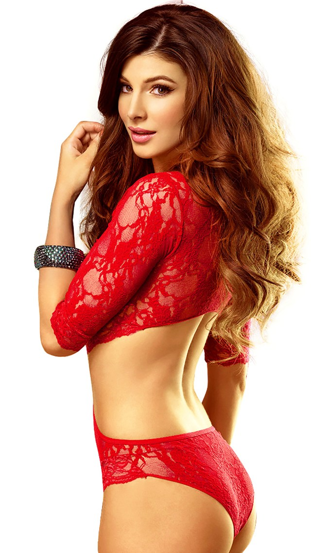 Sexy Girl In Red