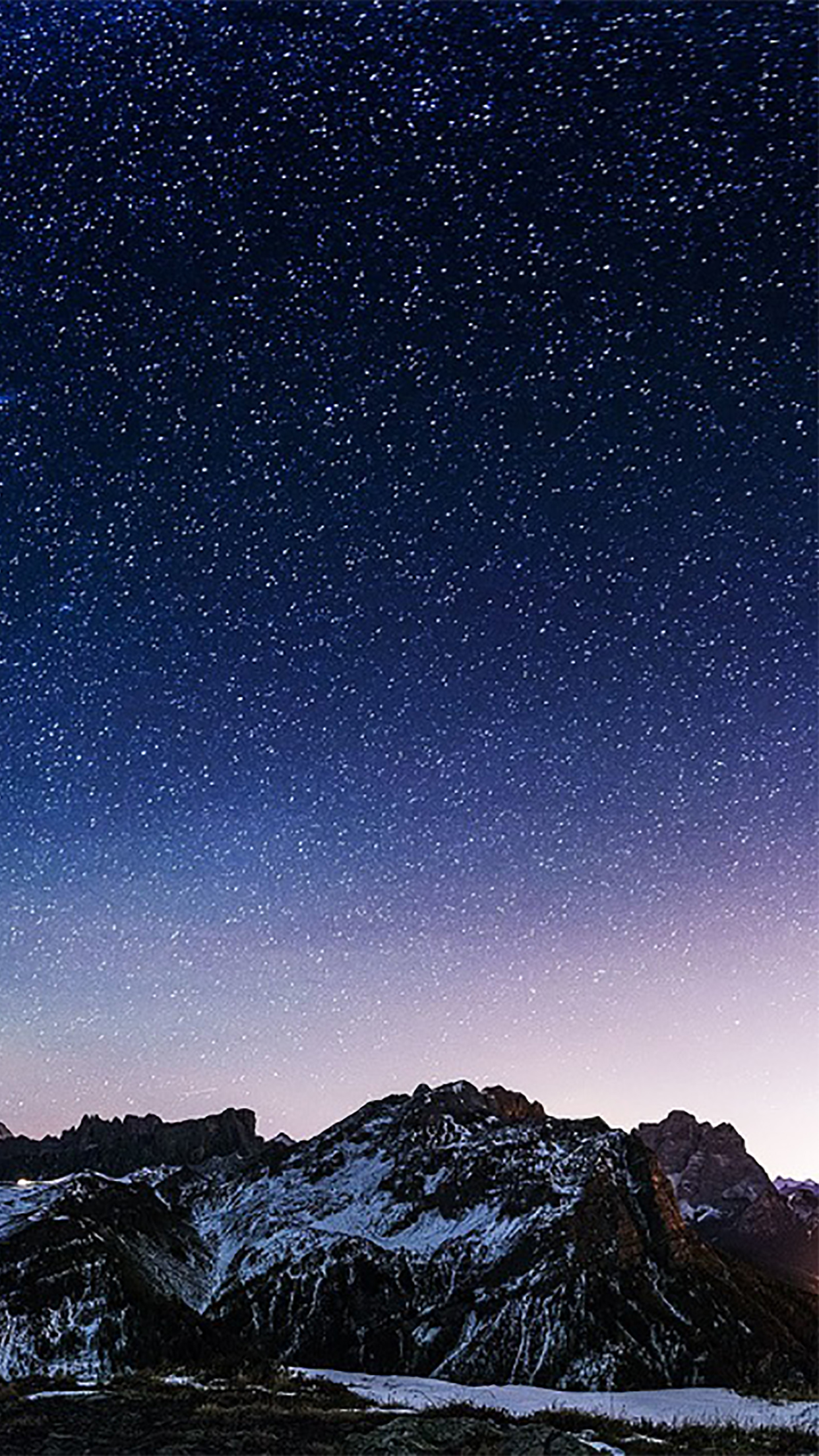 Sky Sky with Stars 3Wallpapers iPhone Parallax Sky : Sky with stars