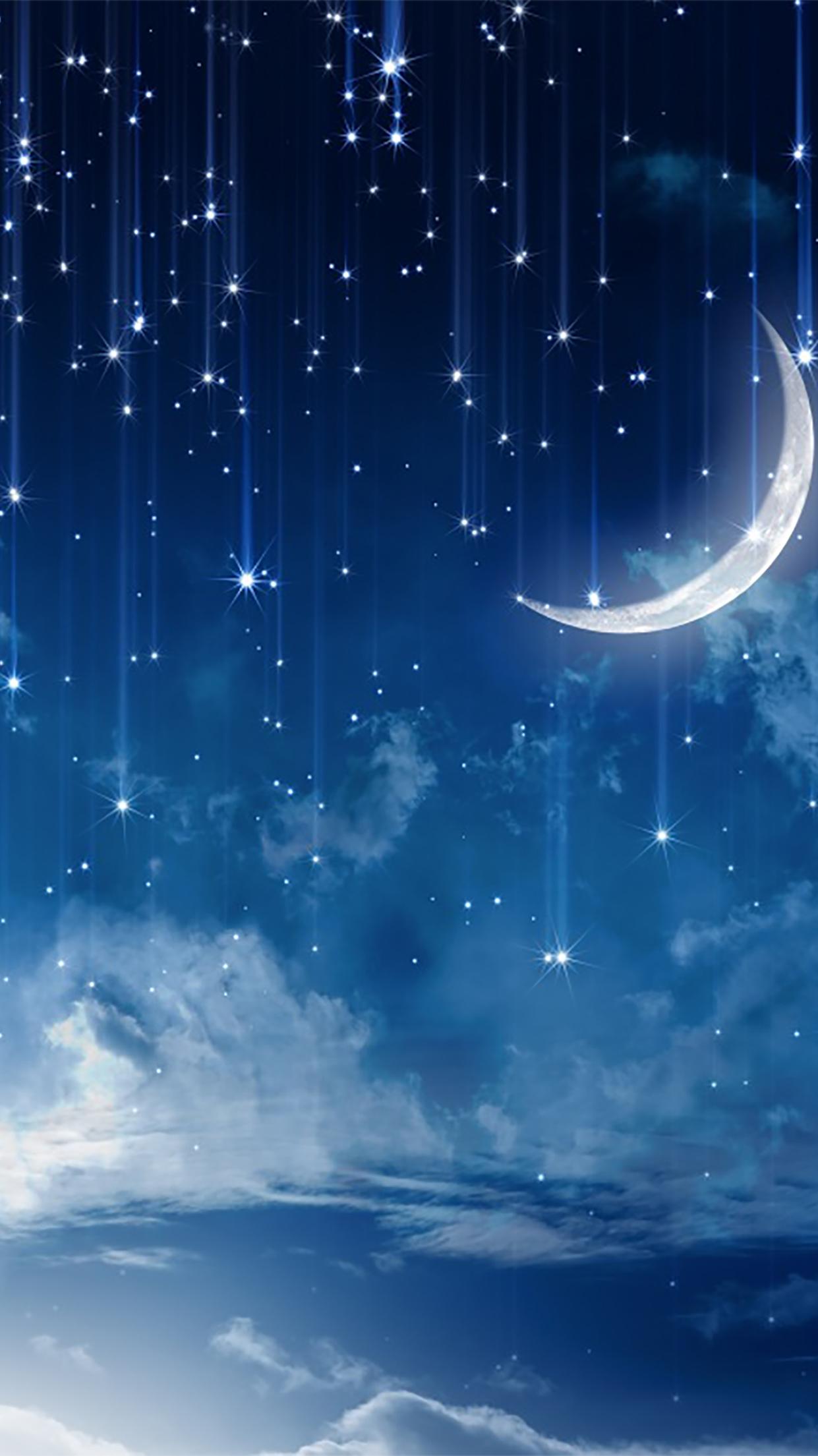 Moon And Stars Wall Art