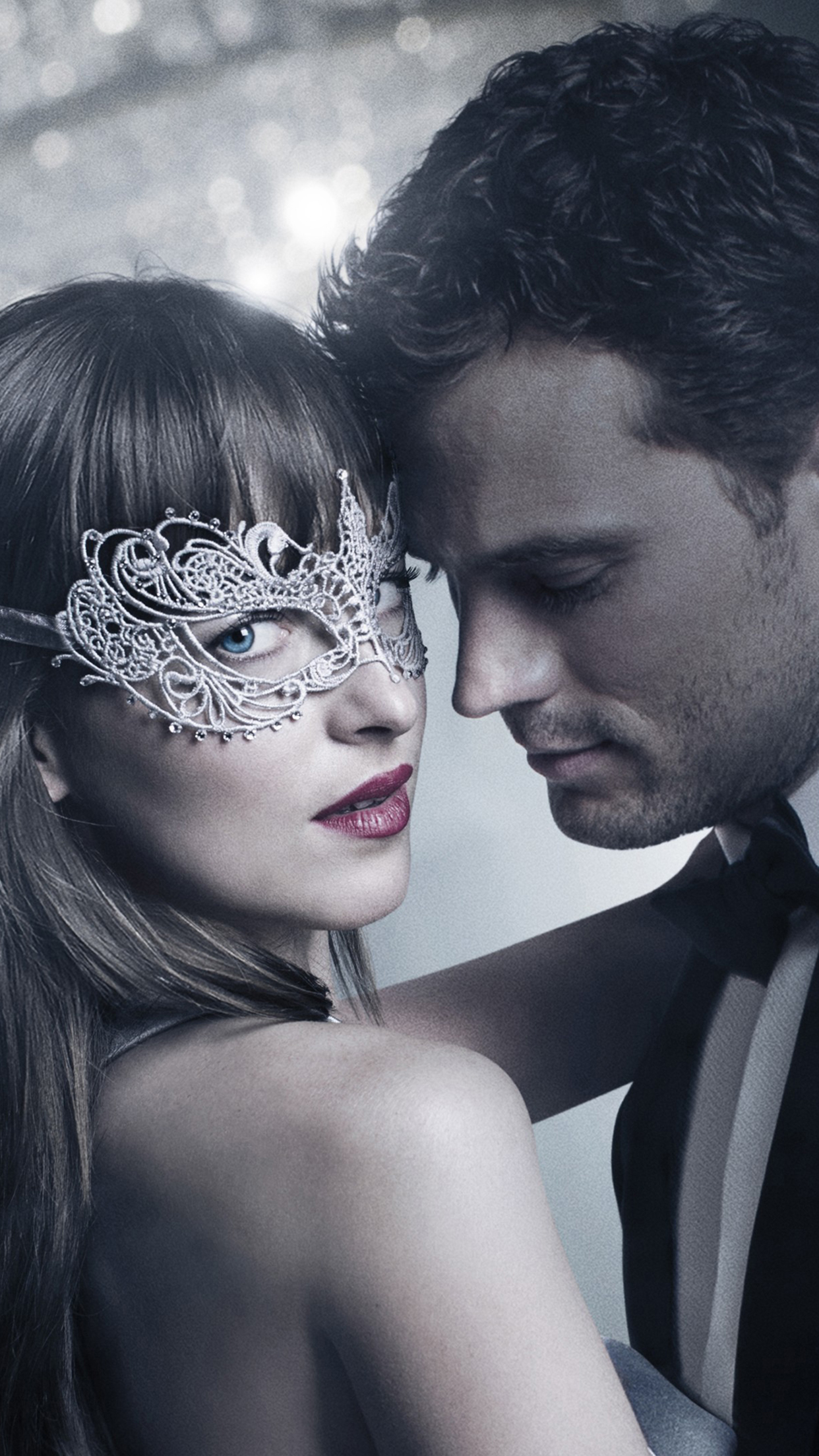 Fifty Shades Darker Christian Ana 3Wallpapers iPhone Parallax Fifty Shades Darker : Christian & Ana