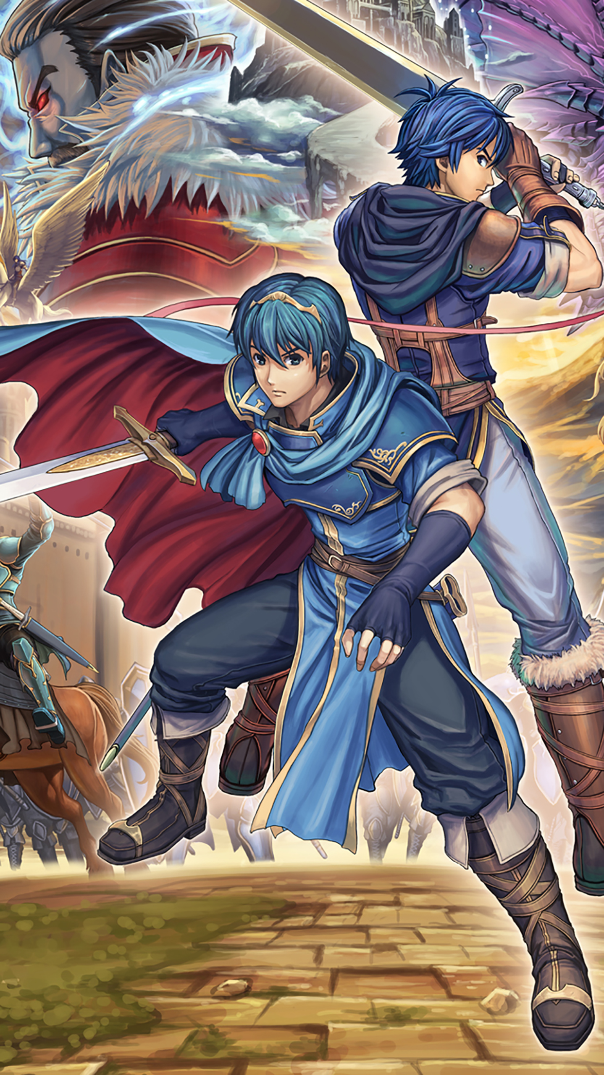 Fire Emblem Heroes Team 3Wallpapers iPhone Parallax Fire Emblem Heroes : Team