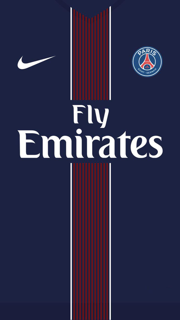 Paris Saint Germain Fly Emirates 3Wallpapers iPhone Parallax Paris Saint Germain (PSG) : Fly Emirates