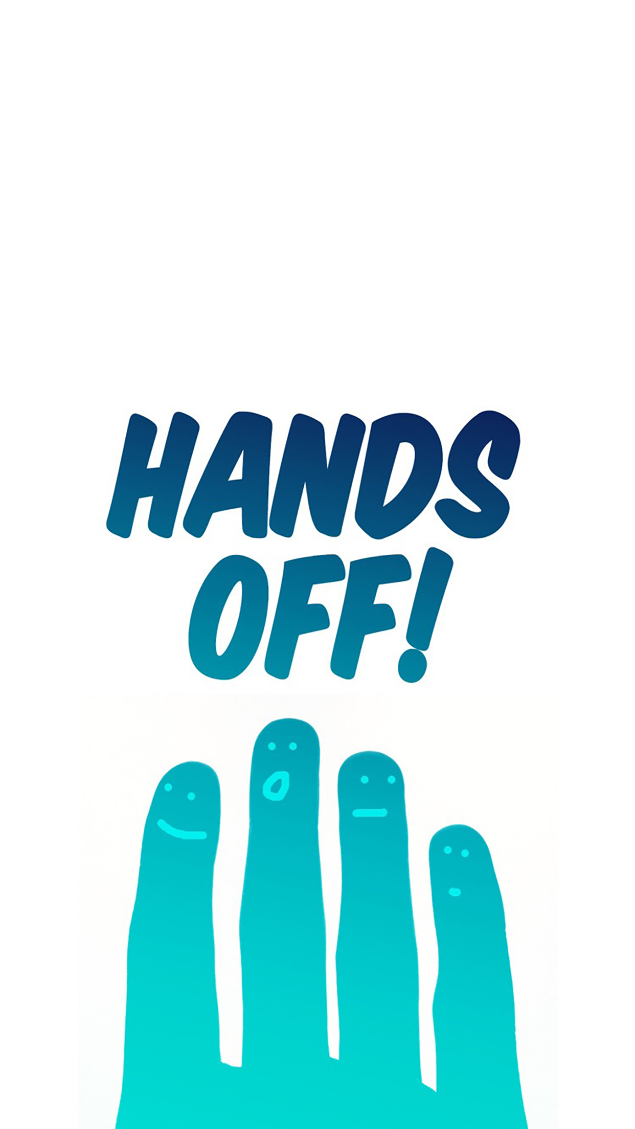 Advices Hands Off 3Wallpapers iPhone Parallax Advices : Hands Off