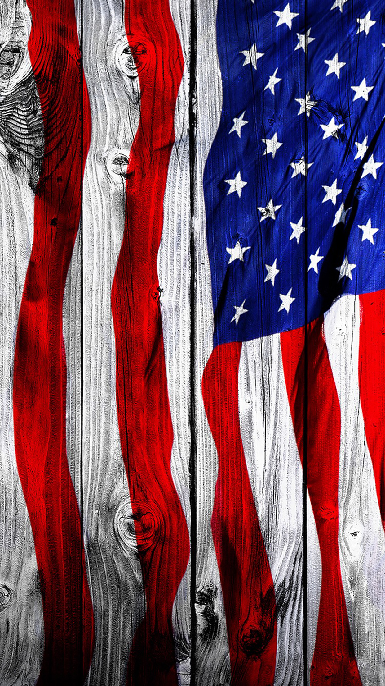 American Flag 1 3Wallpapers iPhone Parallax American Flag : 1