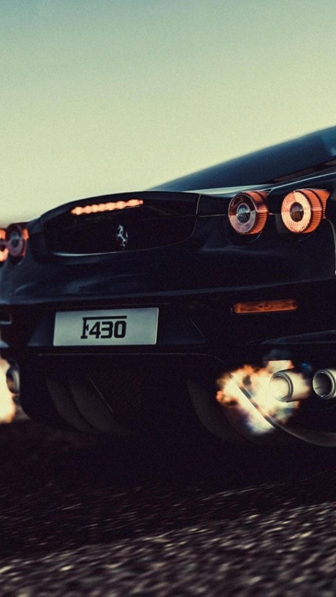 iPhone wallpaper ferrari black Ferrari