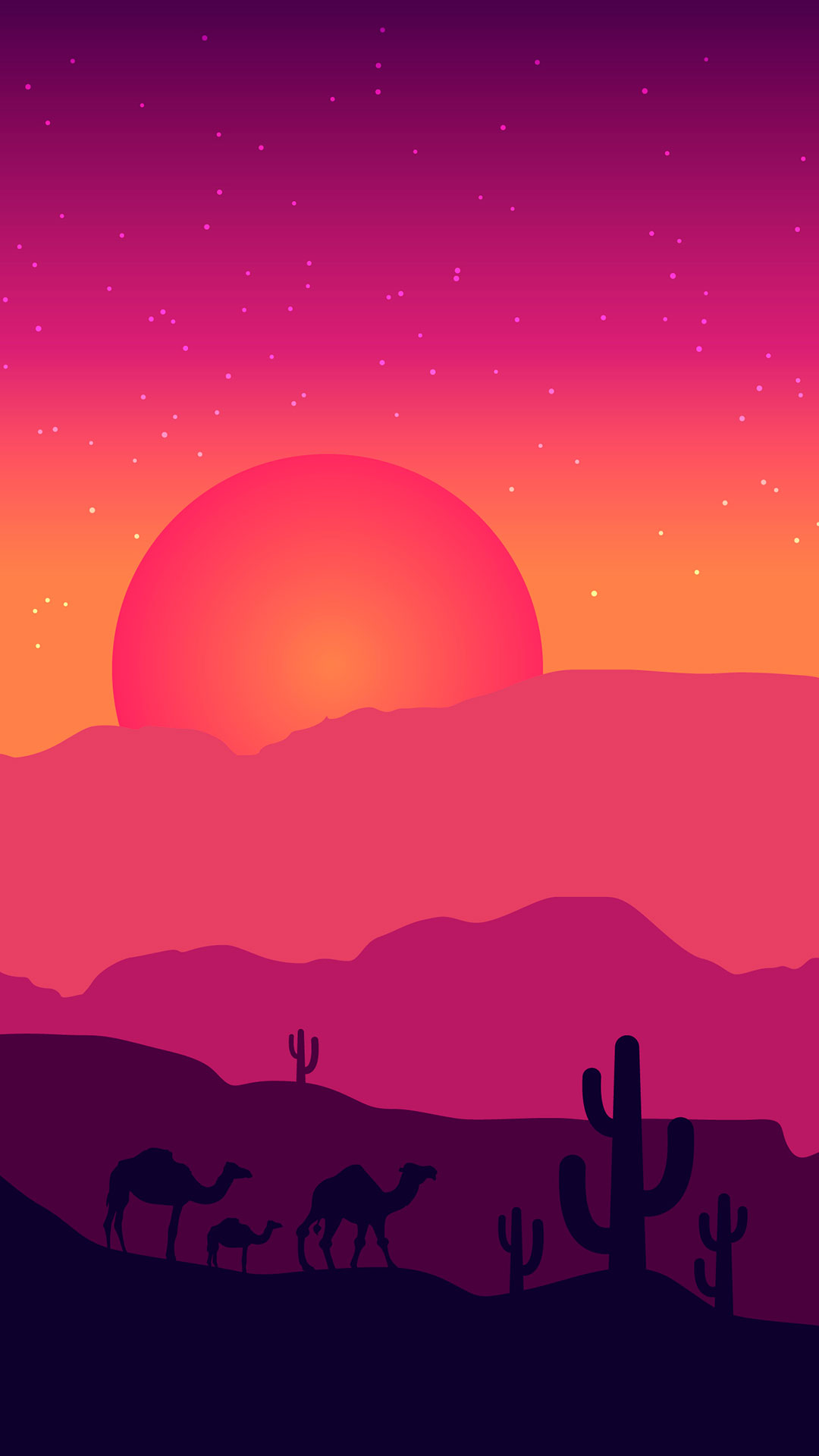 iPhone wallpaper illustration2 Illustration