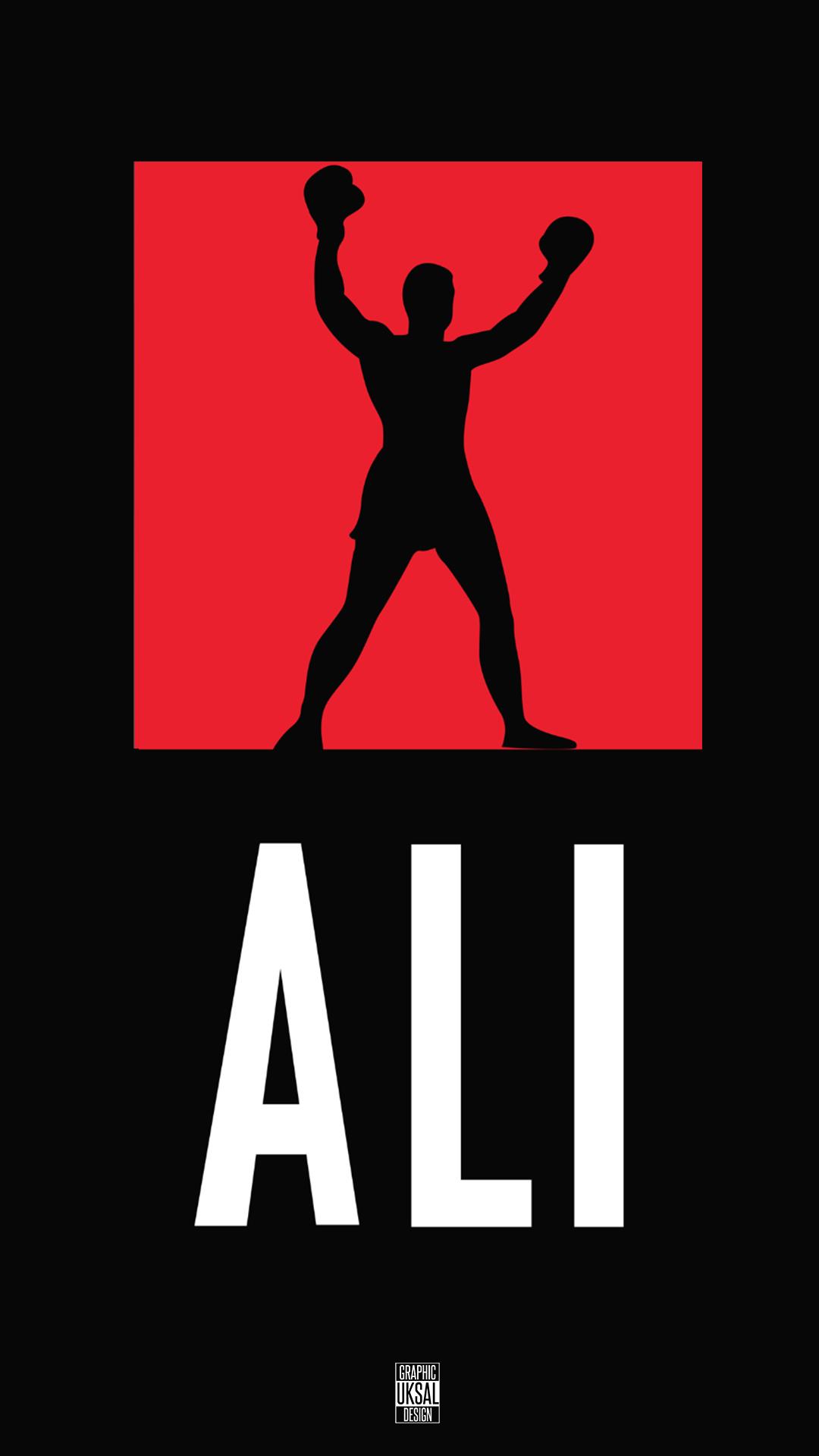 iPhone wallpaper muhammad ali logo Muhammad Ali