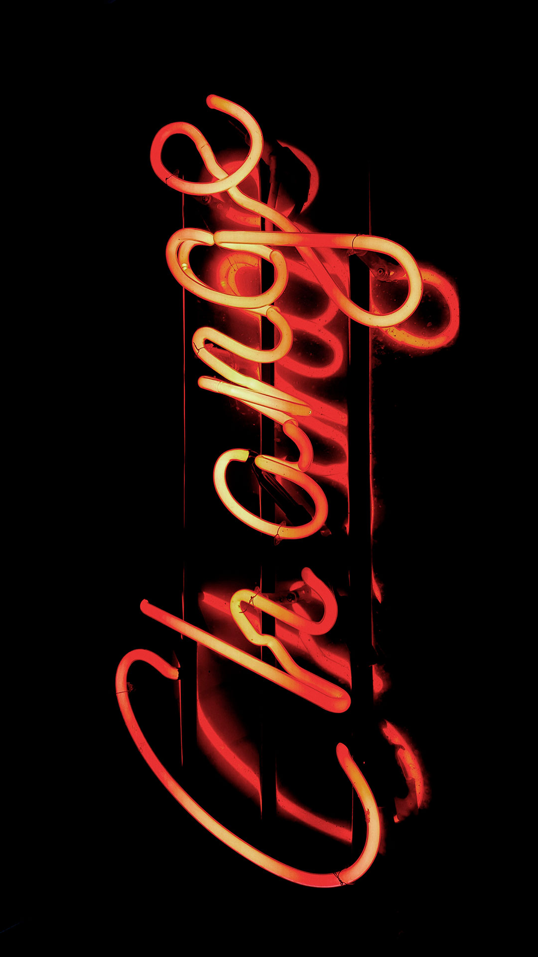 iPhone wallpaper neon sign change Neon Sign