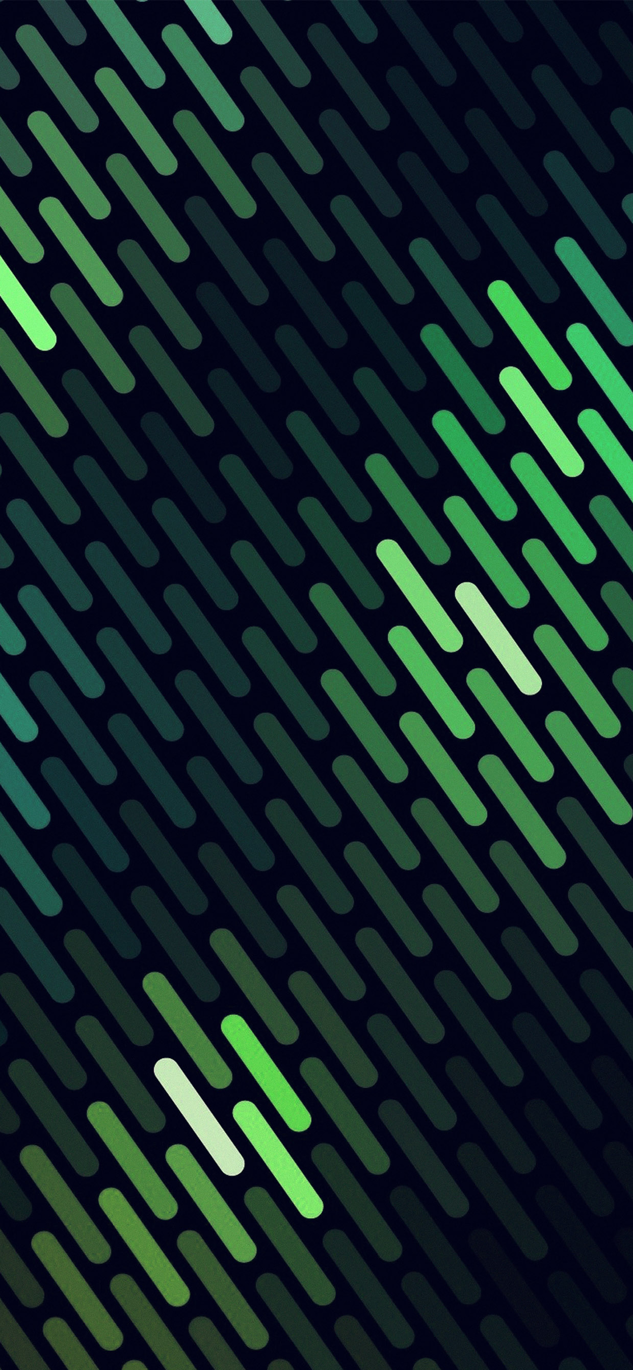 iPhone wallpaper green dots lines Green