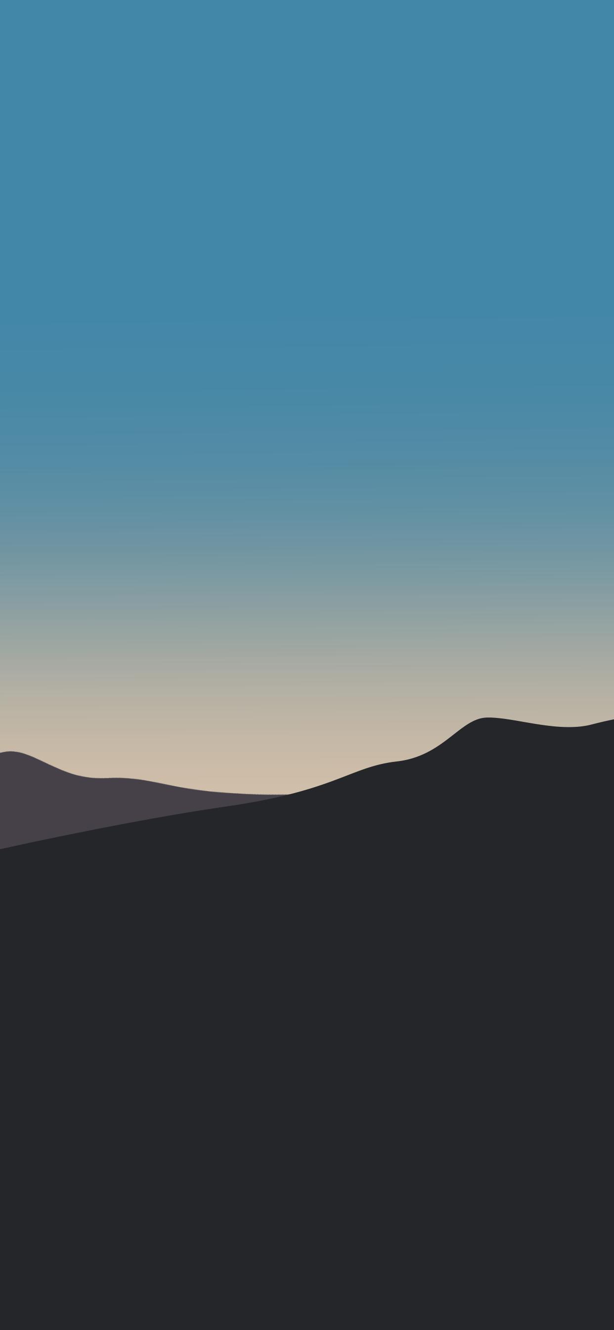 iPhone wallpaper illustration sunrise Illustration