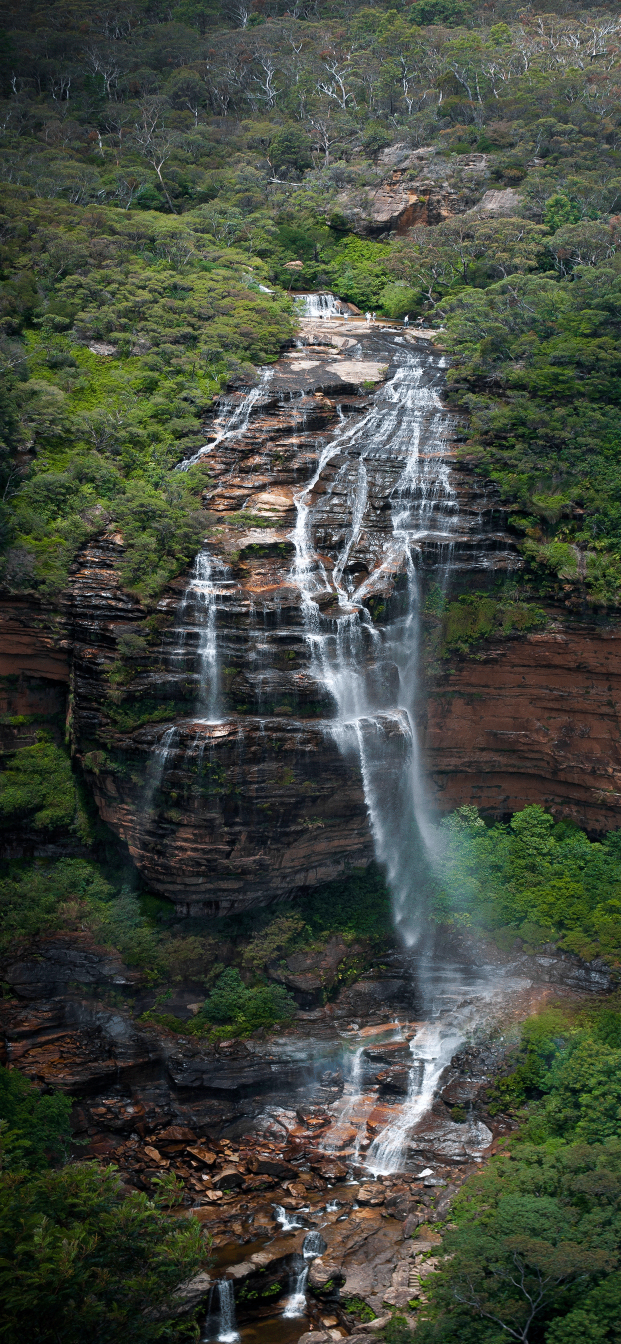 iPhone wallpaper australia wentworth falls Australia