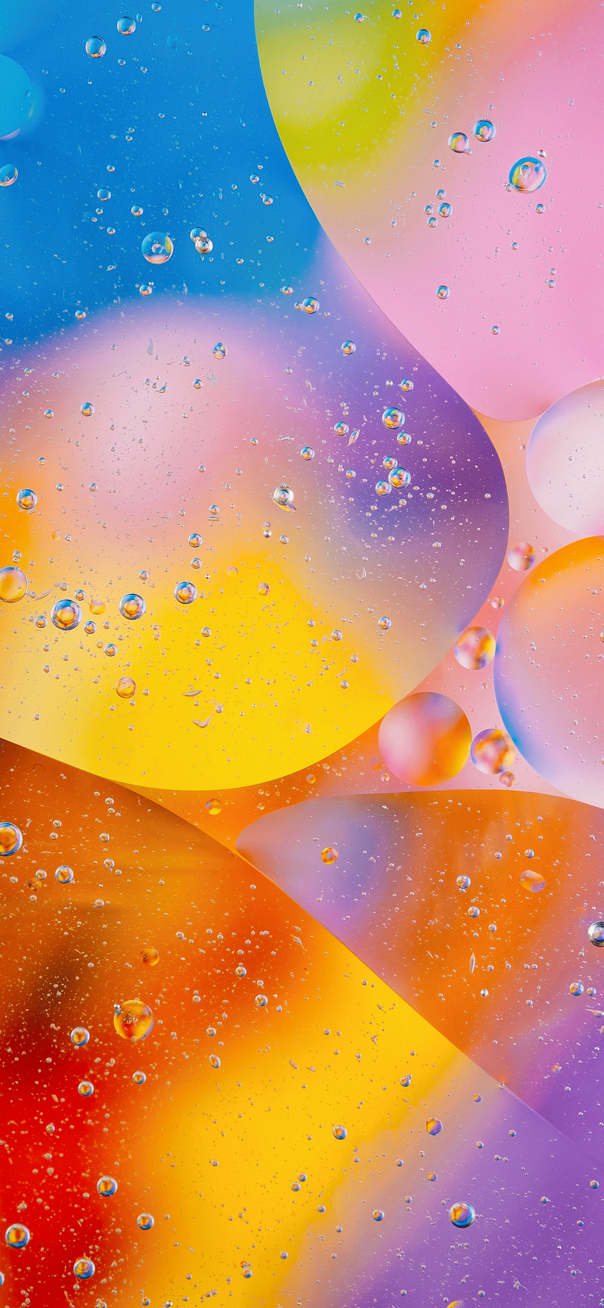 iPhone wallpapers abstract bubbles colors Abstract