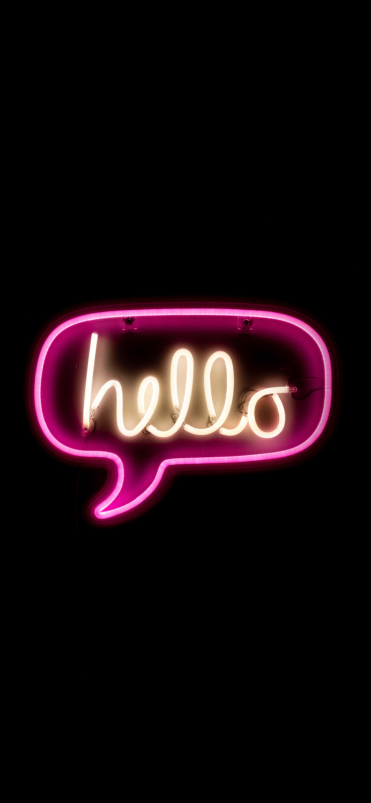 Neon sign Wallpaper for iPhone 11, Pro Max, X, 8, 7, 6 ...